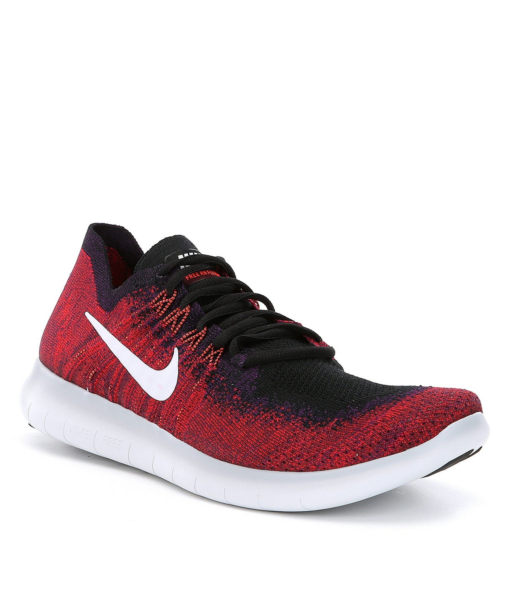 nike s free run flyknit 2 running shoes dillards