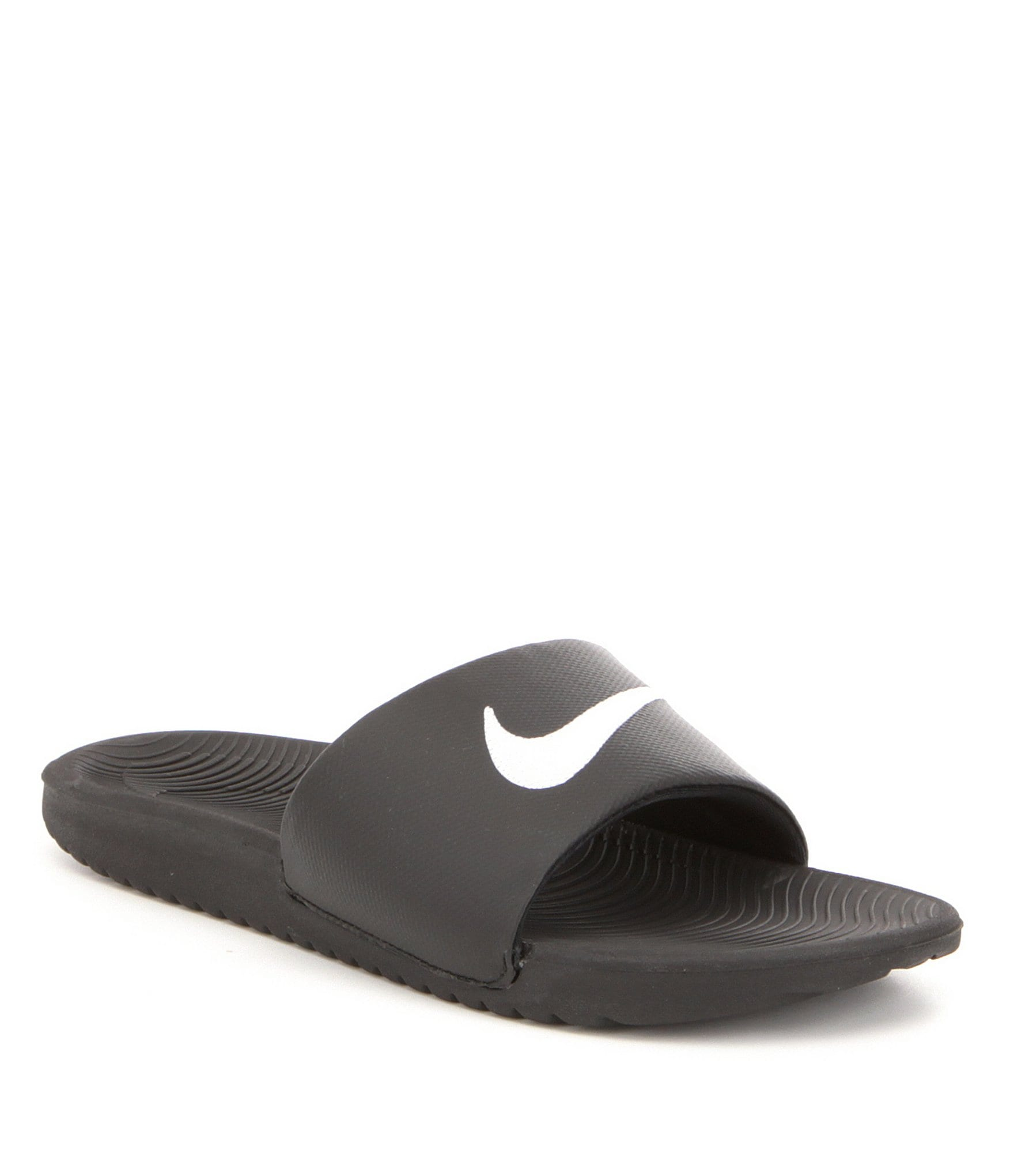635430c9c7c5 Nike Men s Kawa Synthetic Cushioned Sole Slide On Banded Sandals ...