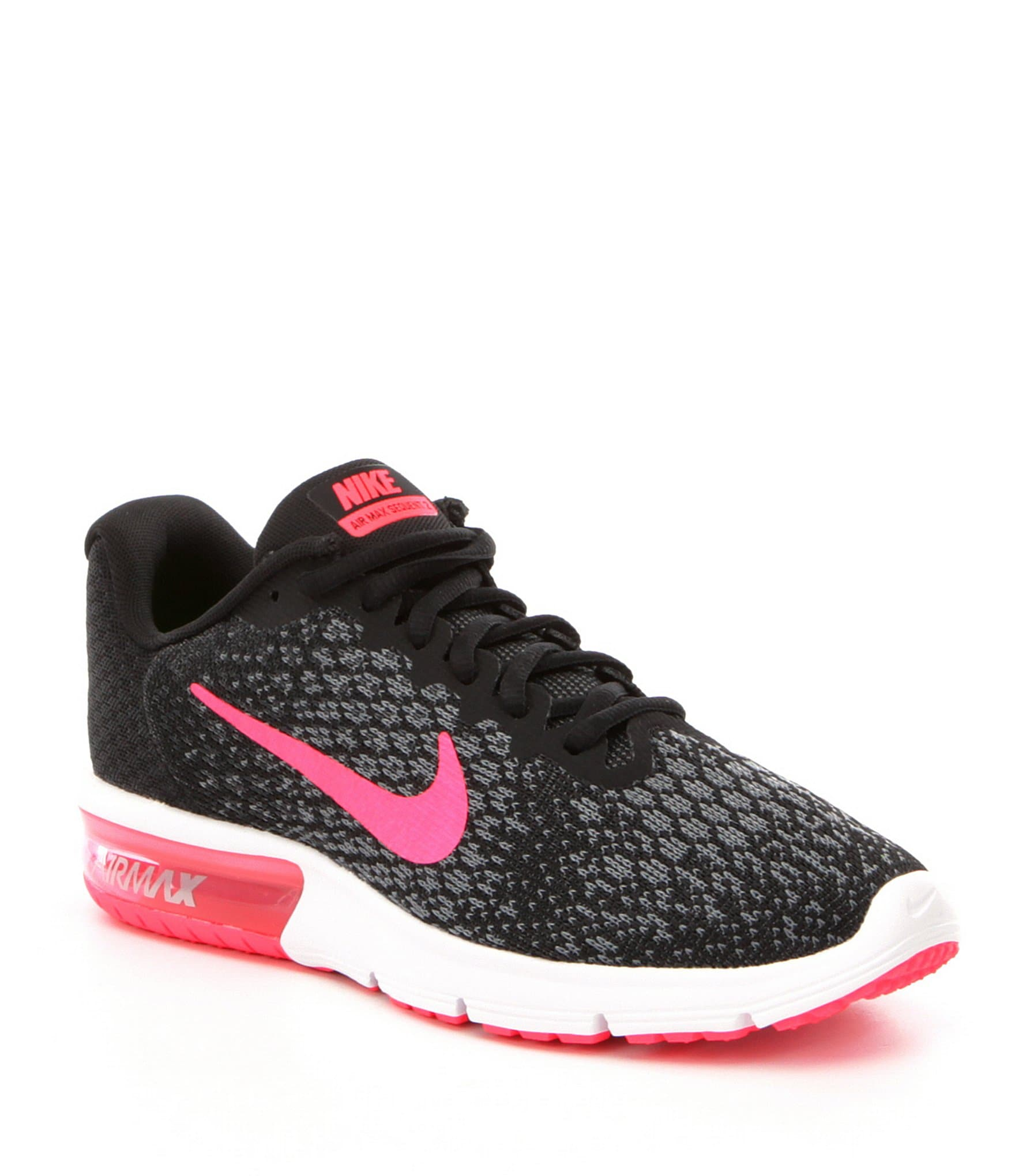 nike womens air max sequent 2 running shoes dillards