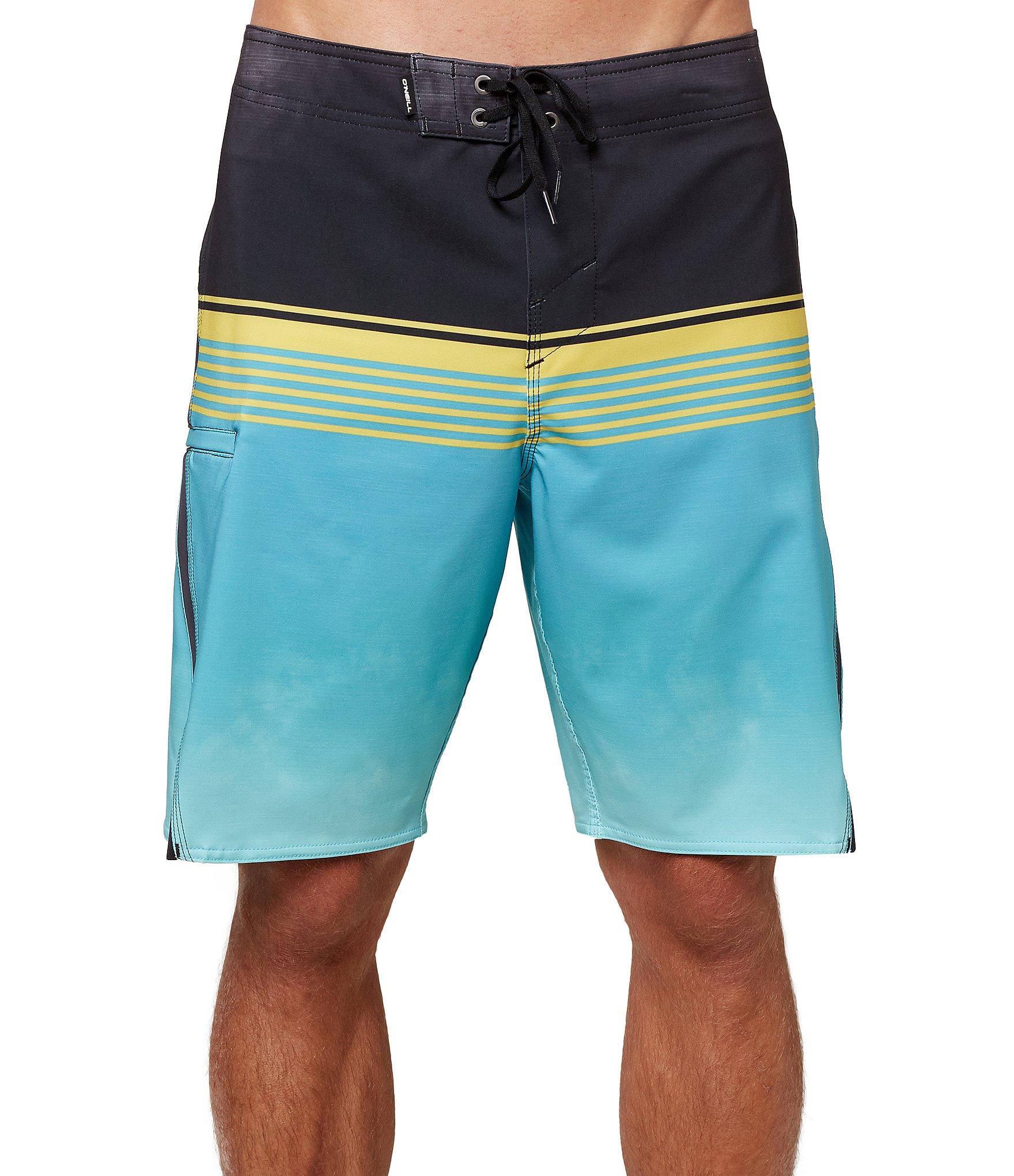 ONEILL PB Mini Palms Yellow AOP W//Blue 104 Costume a Boxer Ragazzo