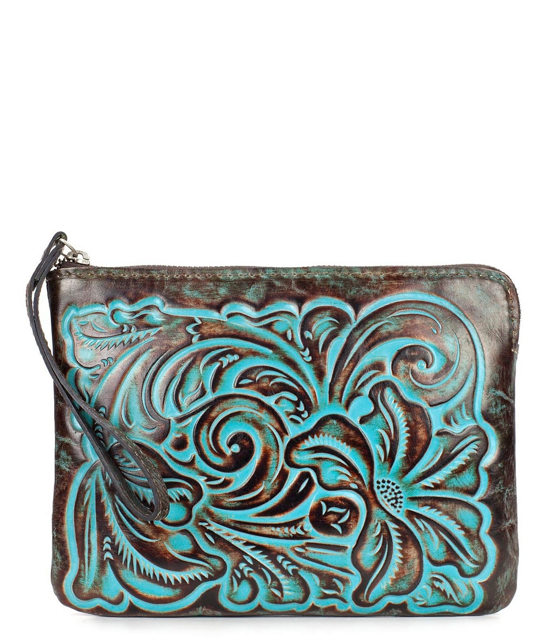patricia nash tooled turquoise collection cassini floral