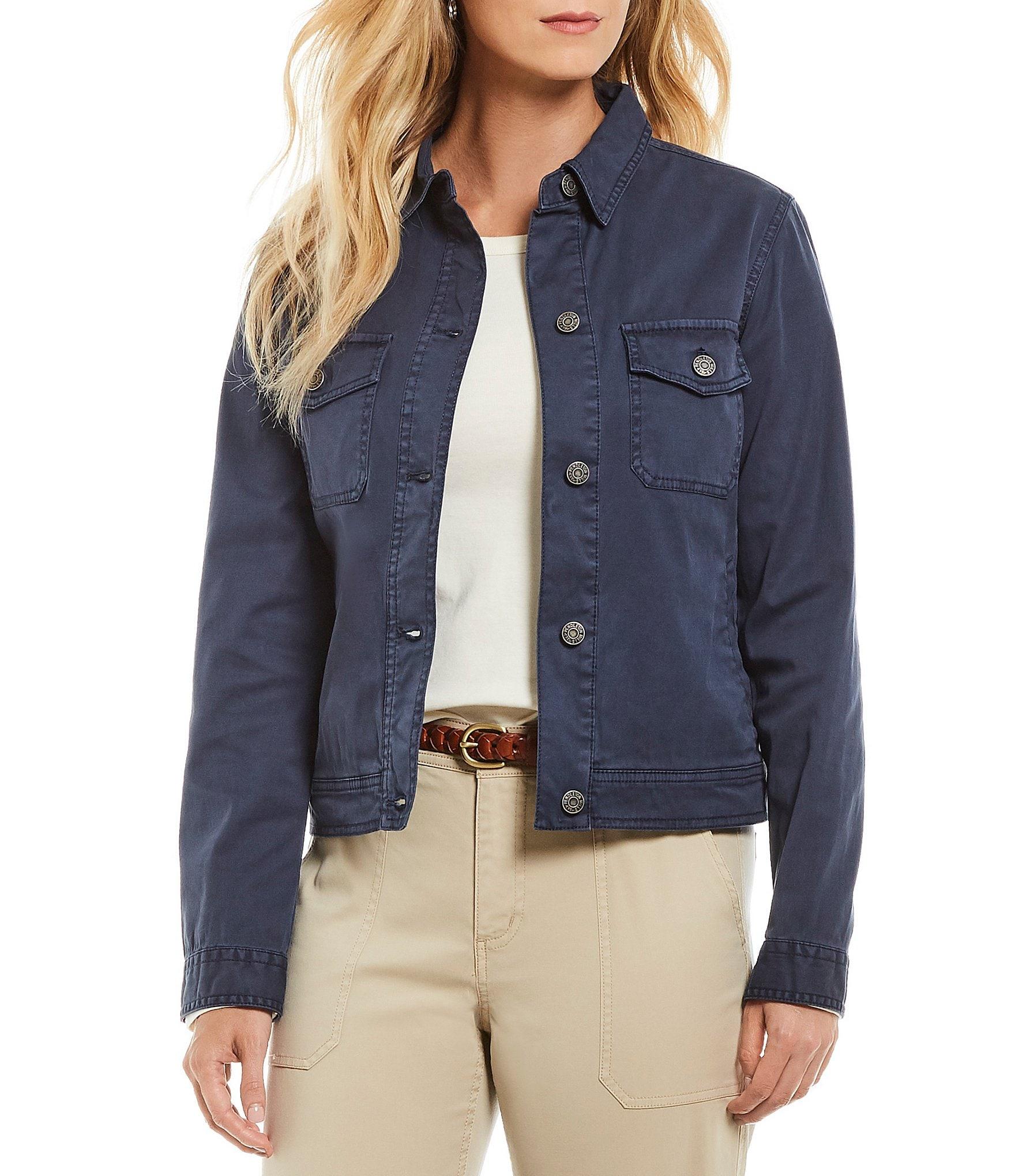 Chino Womens Jackets Vests Dillards Dillards