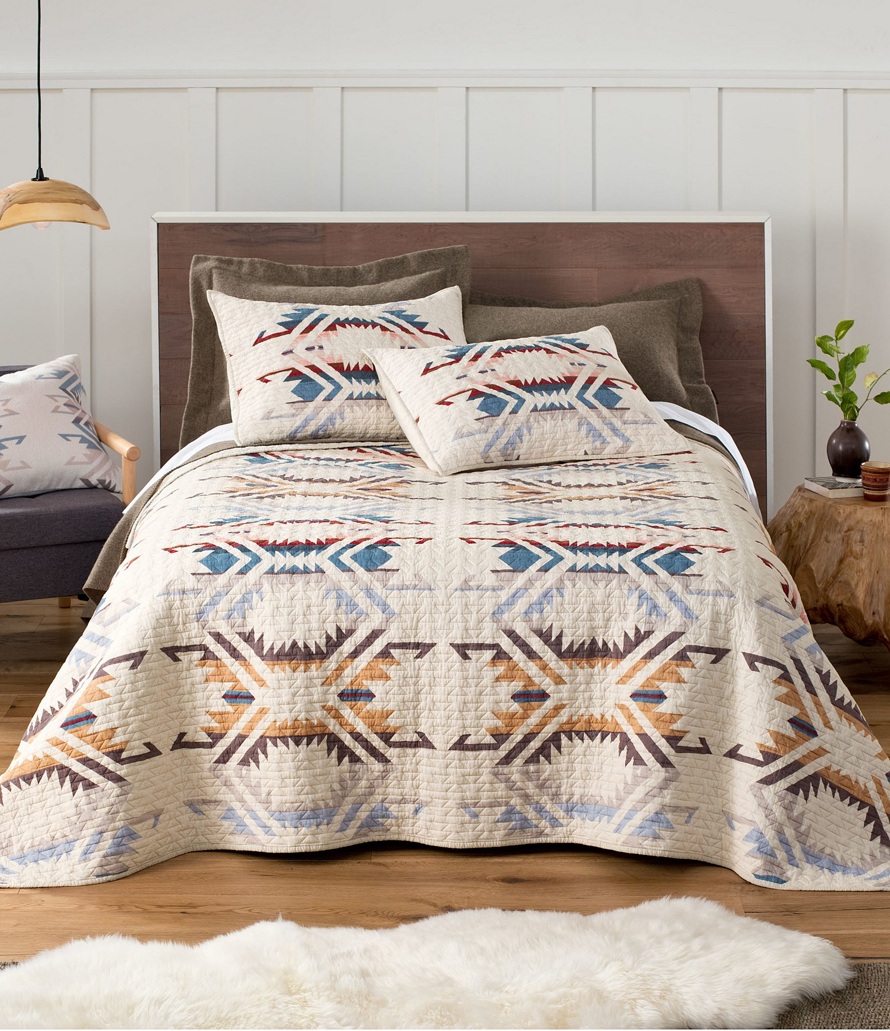 Pendleton White Sands Coverlet Mini Set Dillard S