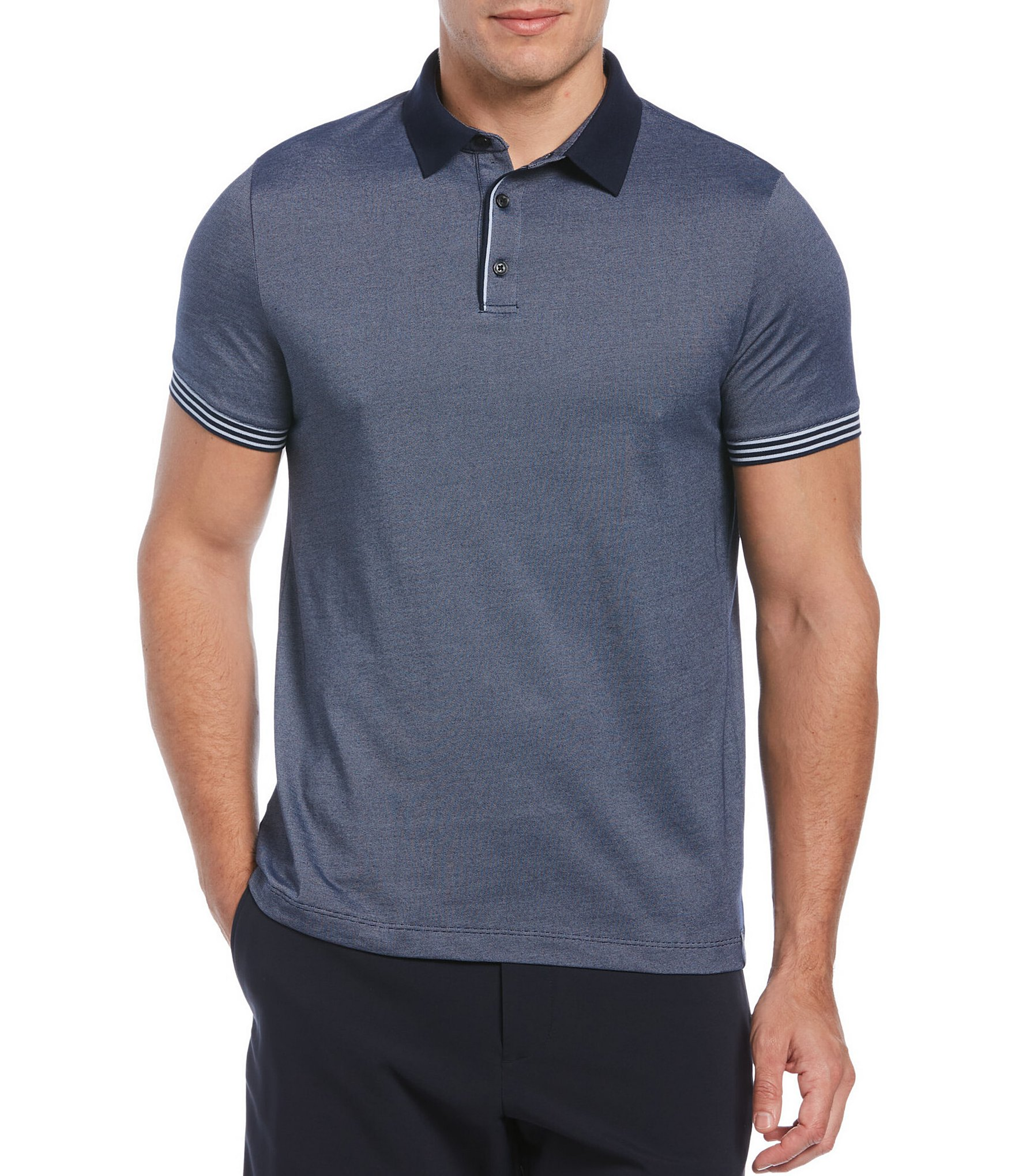 Perry Ellis #9490 NEW Men/'s Big /& Tall Short Sleeve Polo Shirt MSRP $69.50