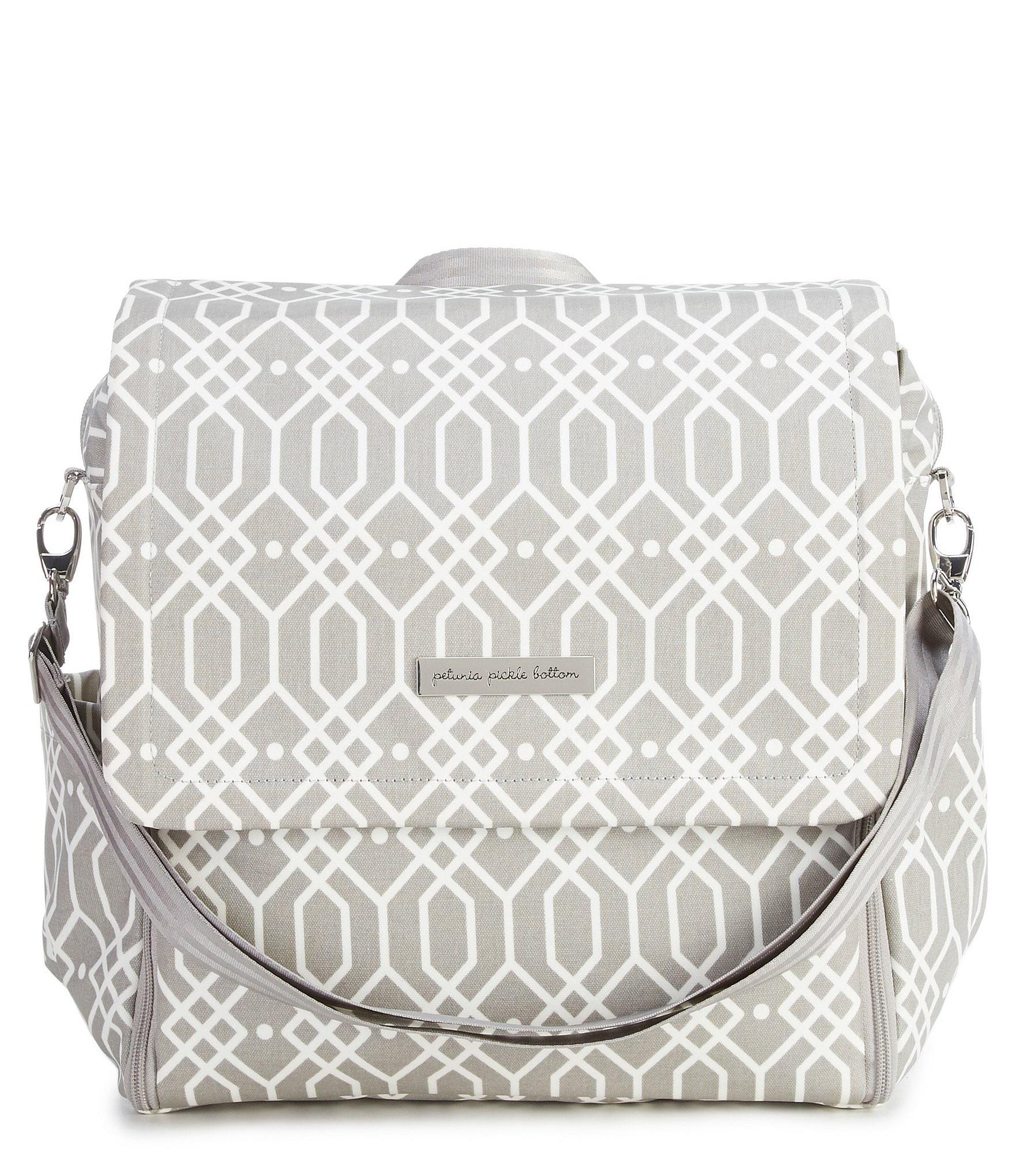 petunia pickle bottom quartz boxy backpack diaper bag. Black Bedroom Furniture Sets. Home Design Ideas