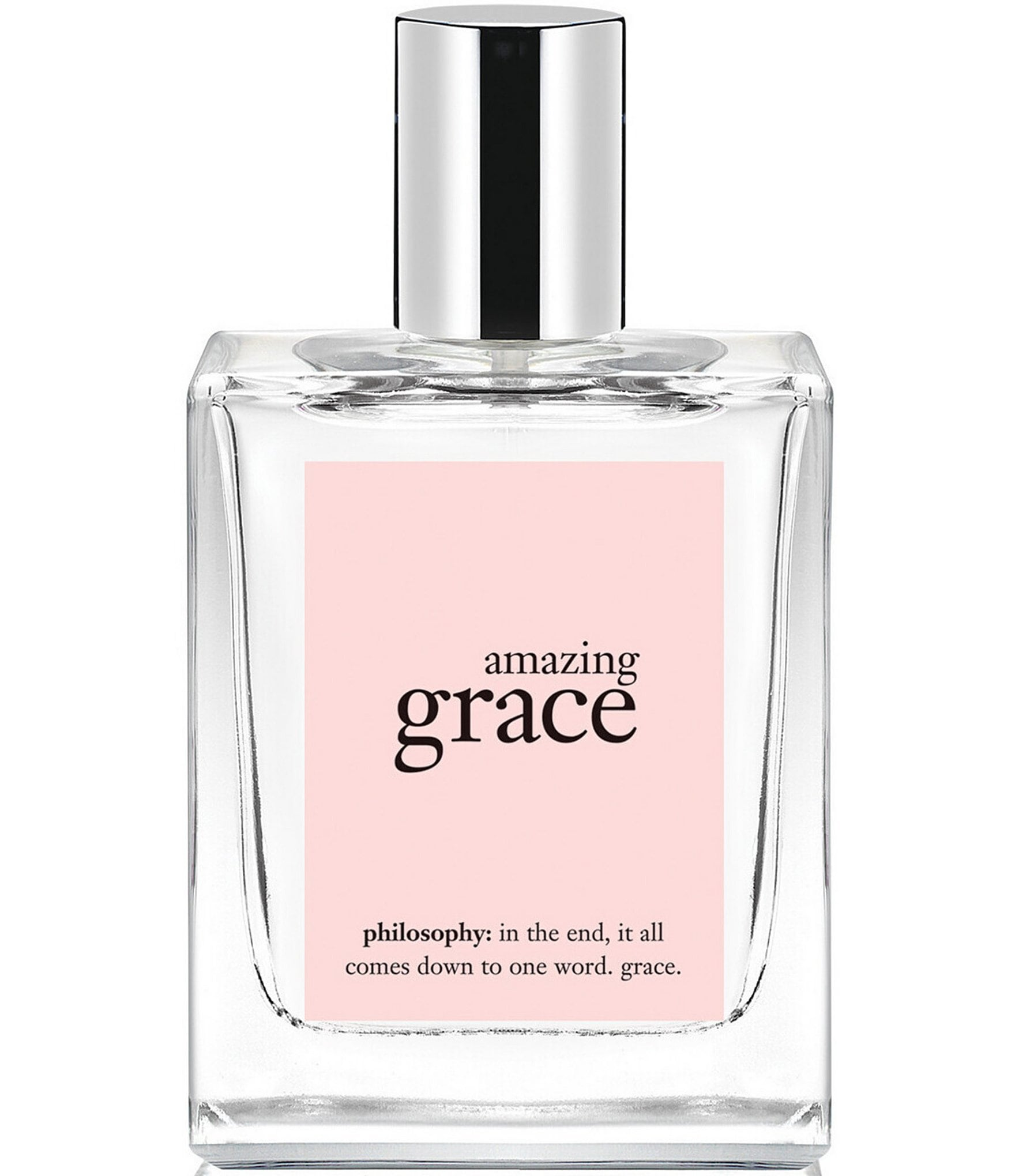 I love Philosophy!!! Pure Grace, it's a beautiful soft non-evasive scent that does command attention only after you leave the room. Yes for real I have been wearing it for .