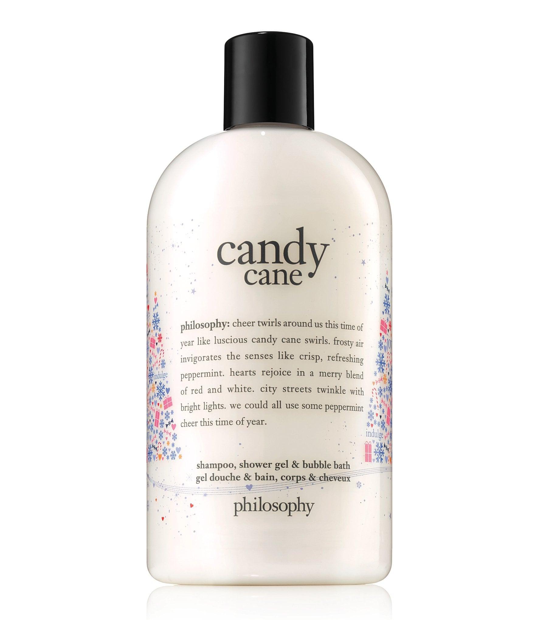 Philosophy Candy Cane Shampoo Shower Gel Amp Bubble Bath