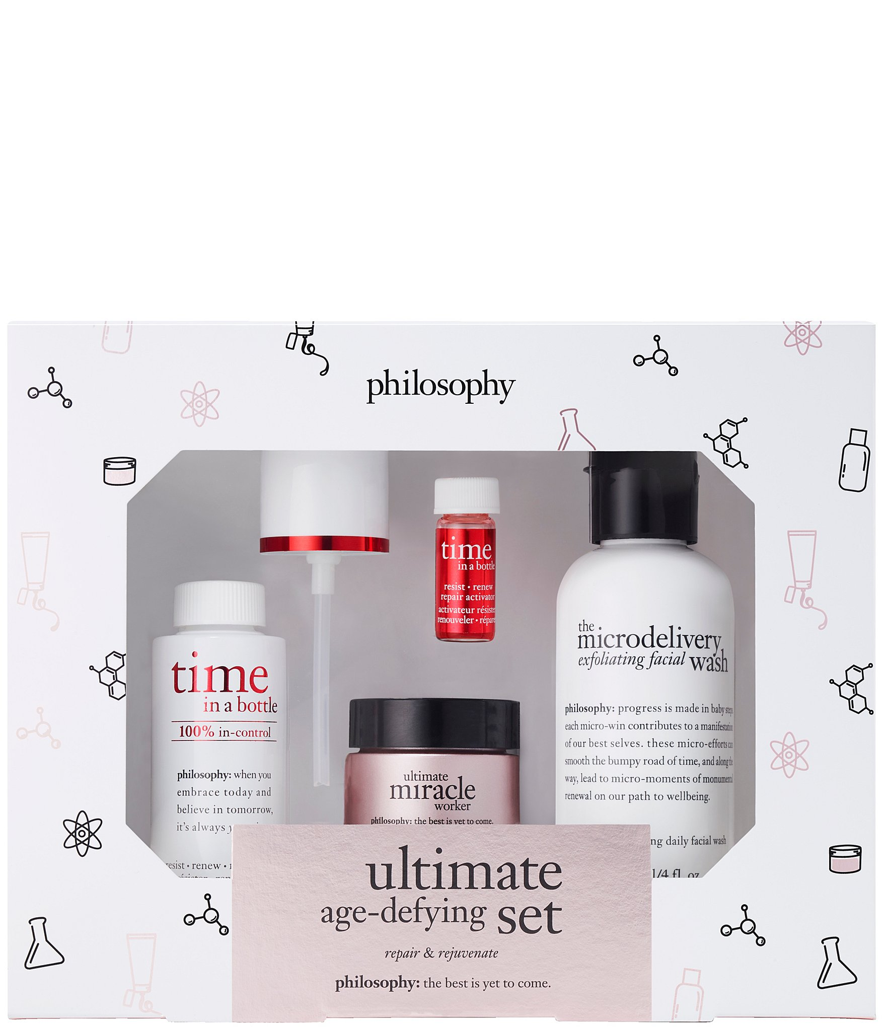 philosophy ultimate age-defying miracle worker trial set | Dillard's