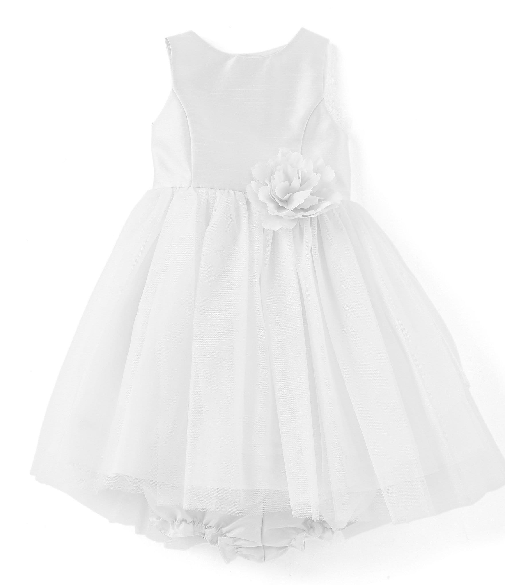 54b7e782afd Pippa   Julie Baby Girls 12-24 Months Flower-Appliqued Ballerina Dress