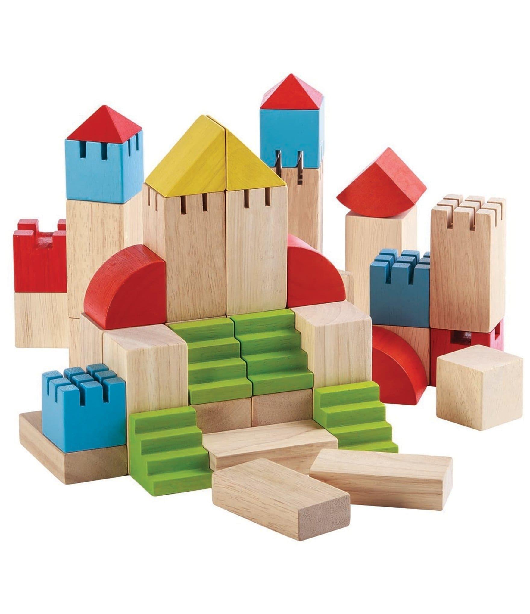 Plan Toys Creative Wooden Blocks