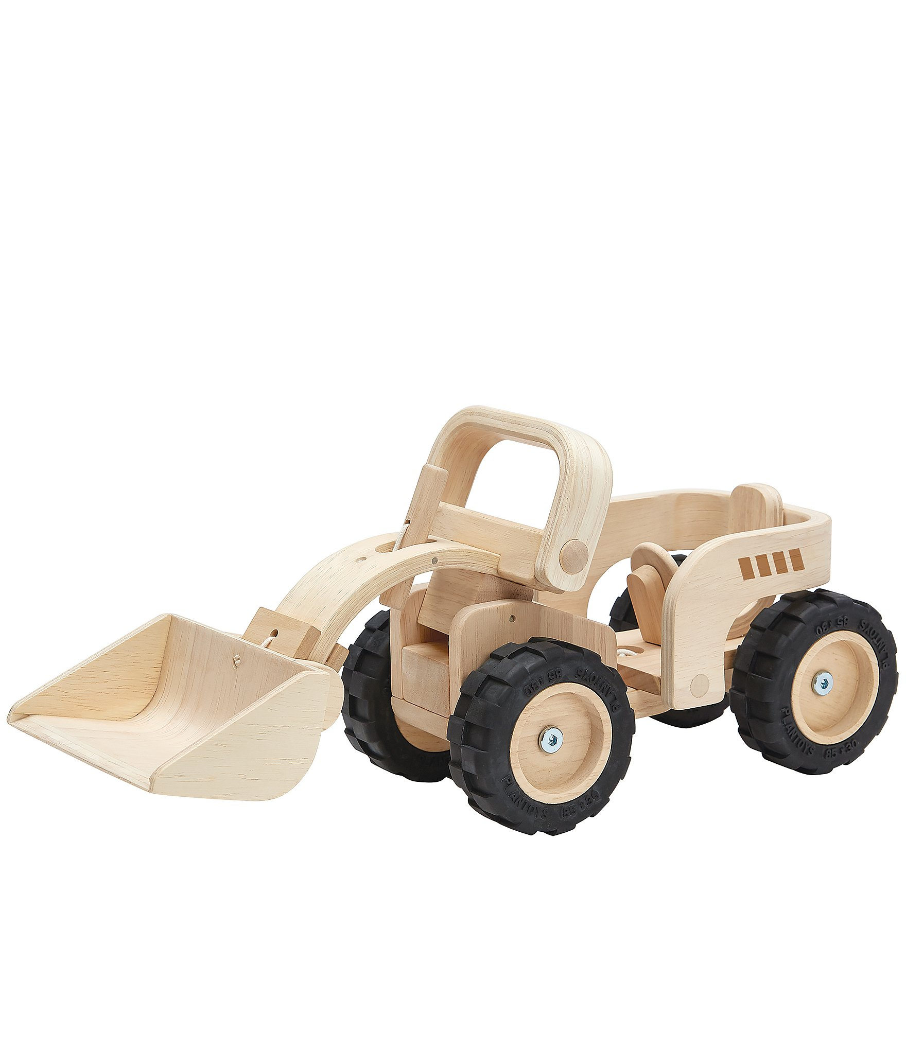 plan toys wooden toy bulldozer | dillard's