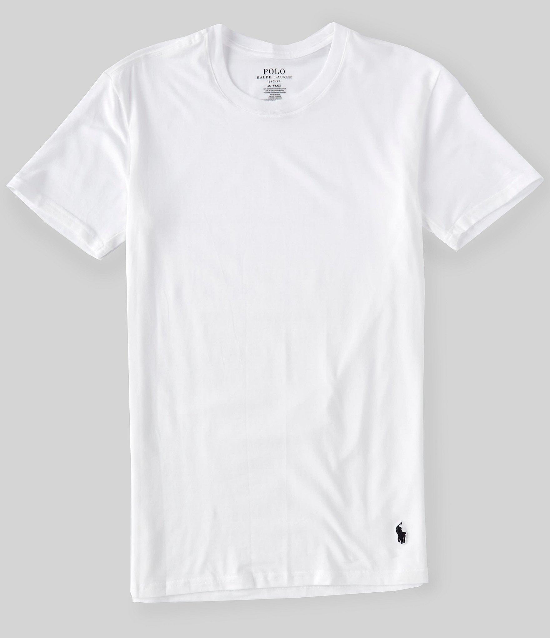 Polo Ralph Lauren 4D Flex Lux Cotton Modal T-Shirts 3-Pack | Dillard's