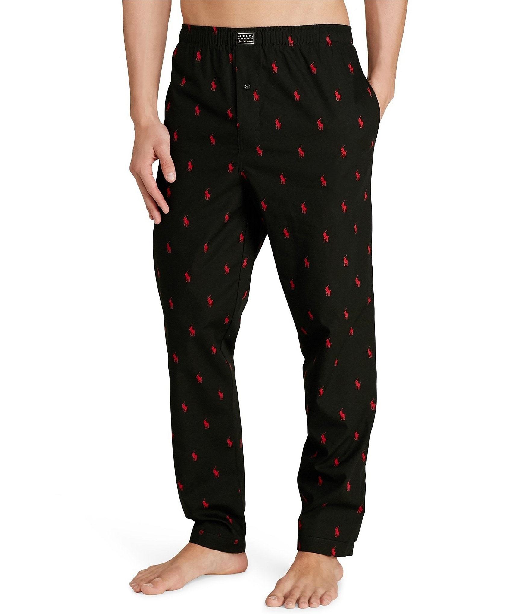 Polo Ralph Lauren Big & Tall Allover Pony Pajama Sleep Pants