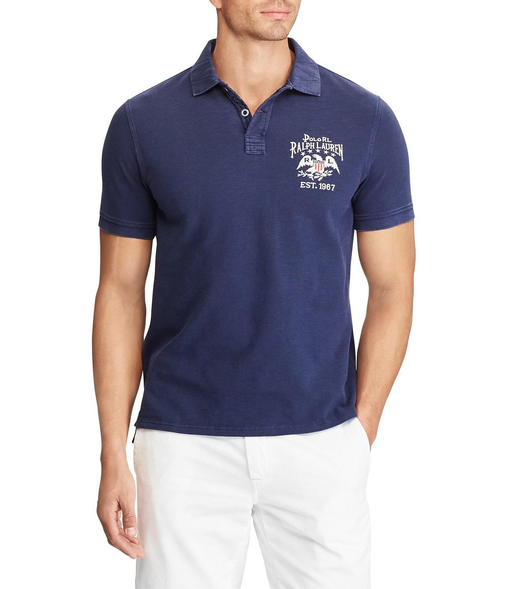 Polo Ralph Lauren Big Tall Classic Fit Mesh Short Sleeve