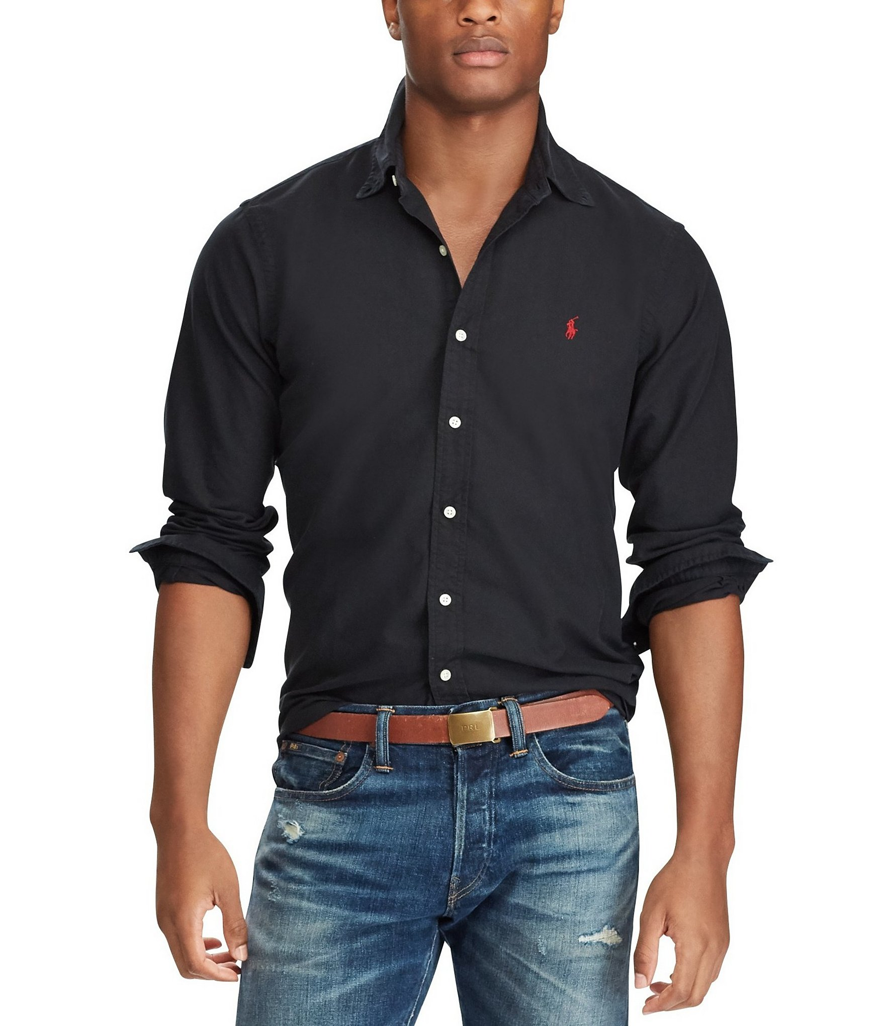Men's Big & Tall Casual Button-Front Shirts | Dillards