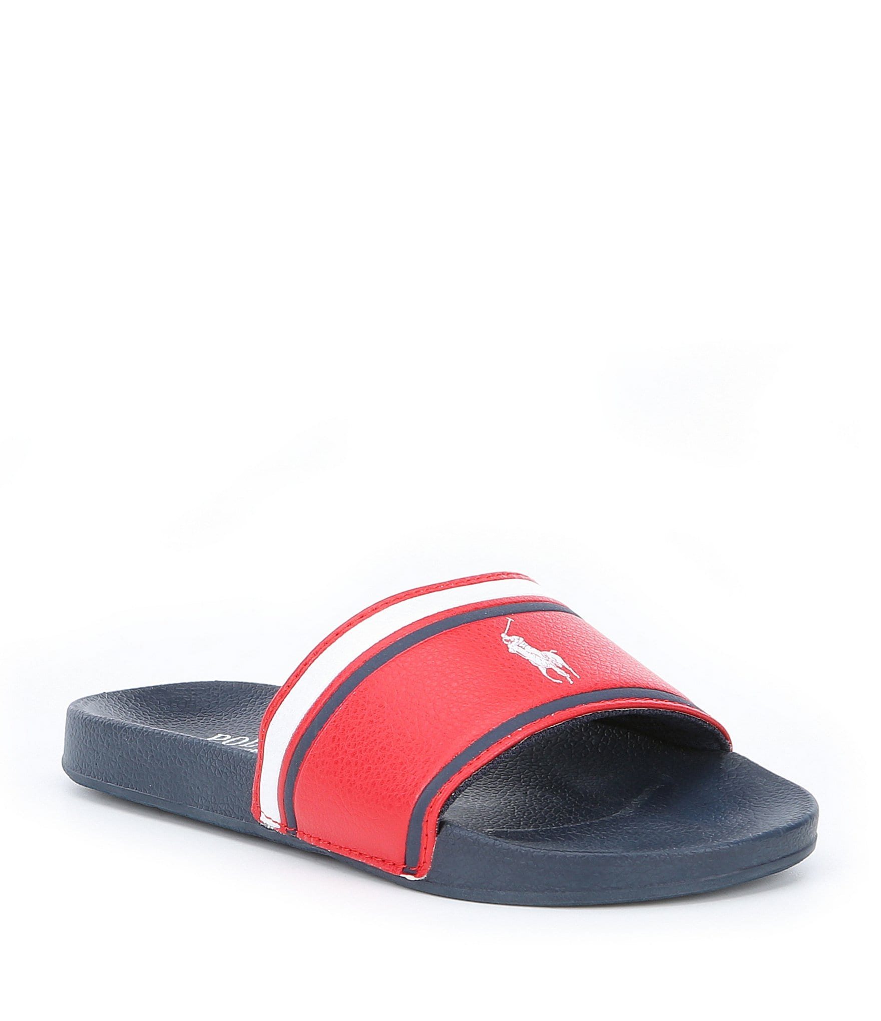 56d70ac77 Youth Boys  Casual Flat Slide Sandals