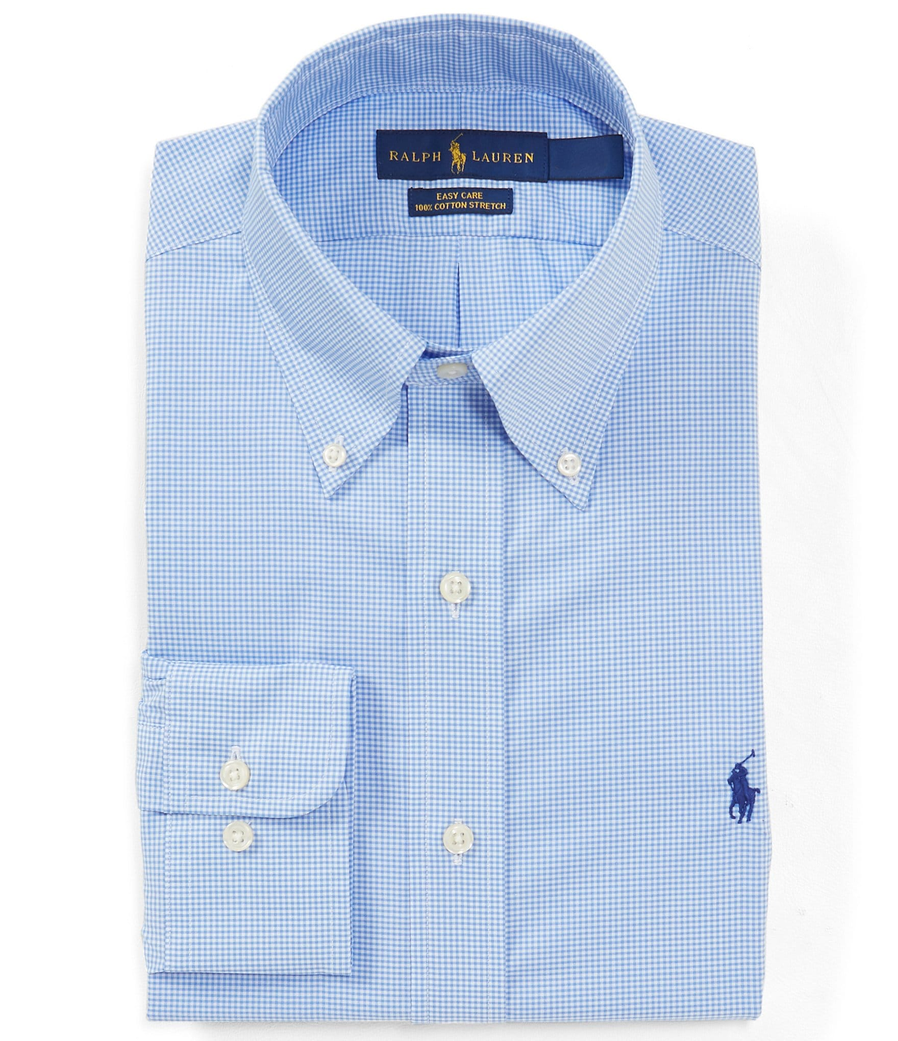 28518aea5fee Polo Ralph LaurenClassic Fit Button-Down Collar Gingham Dress Shirt