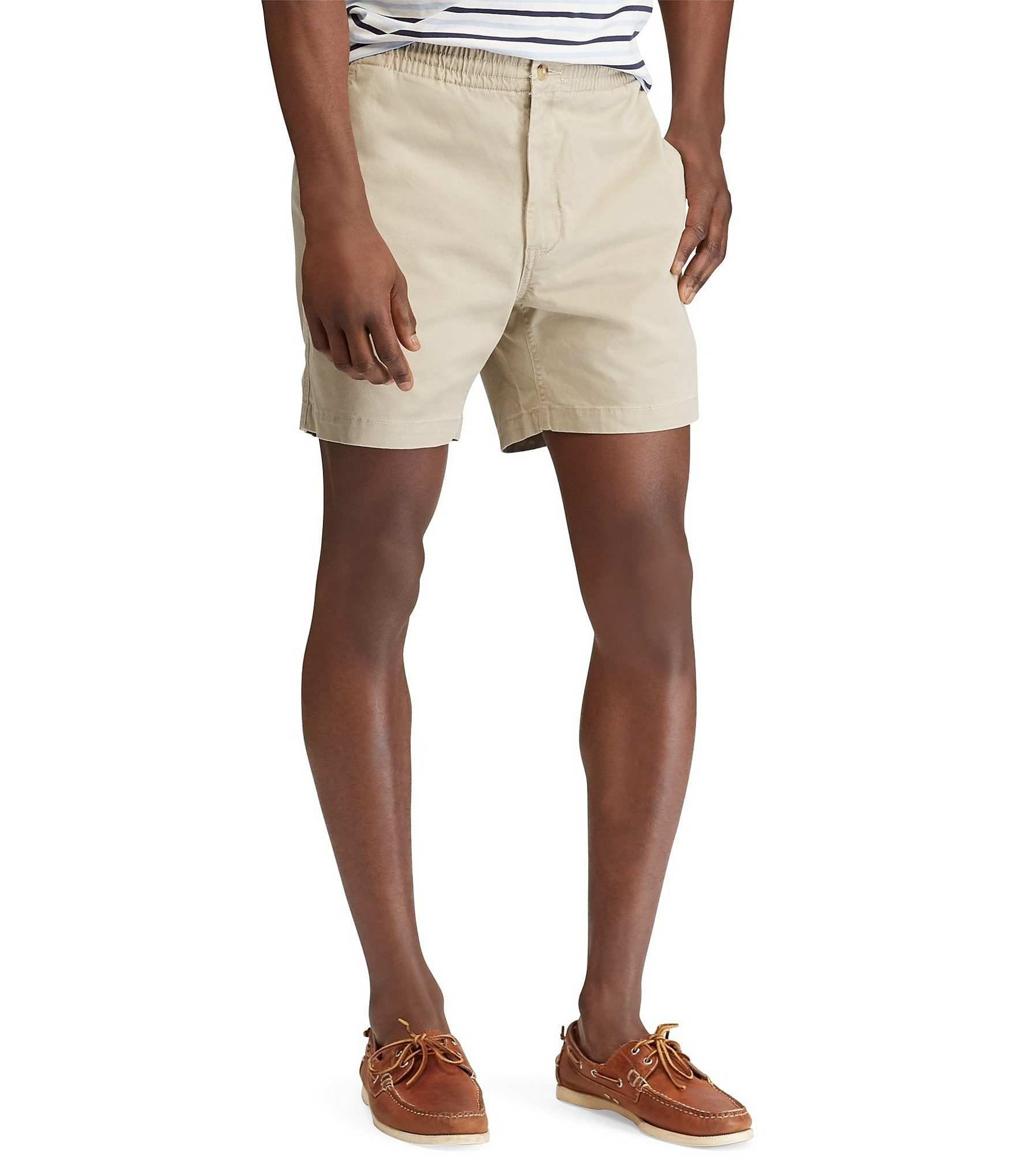 515f3485b Polo Ralph LaurenClassic-Fit Flat-Front Stretch Prepster 6