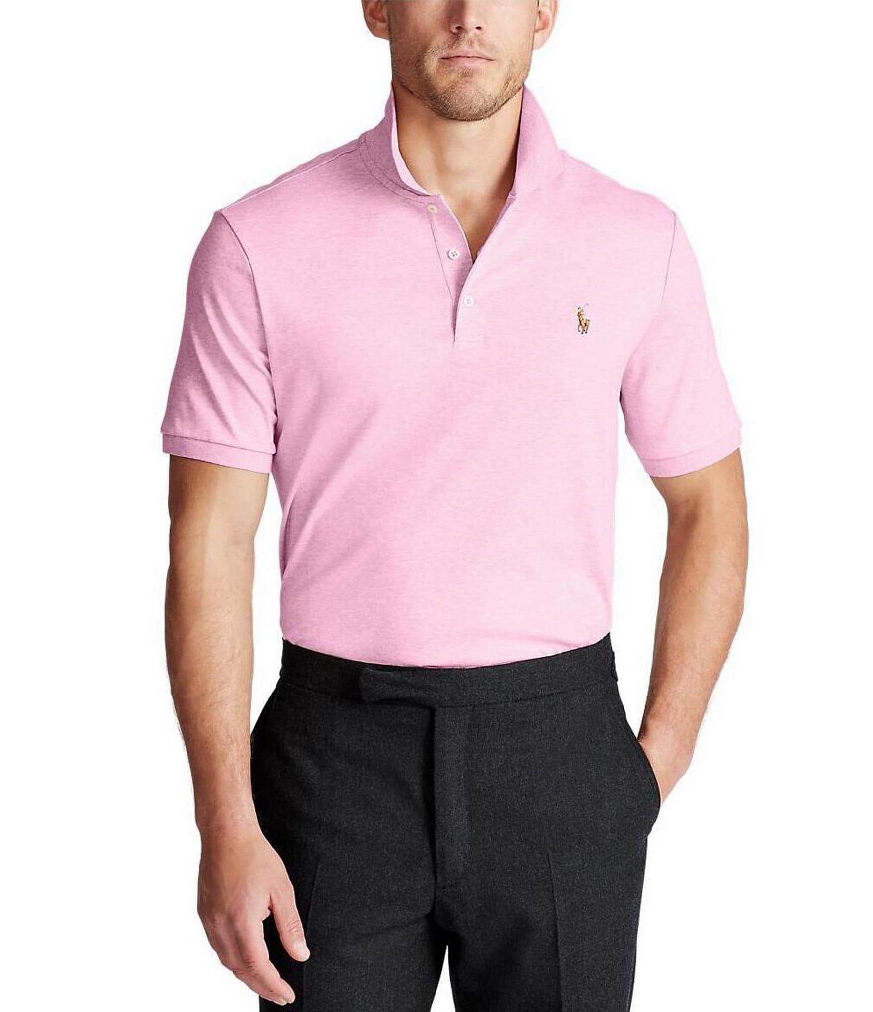 Pink Mens Casual Polo Shirts Dillards