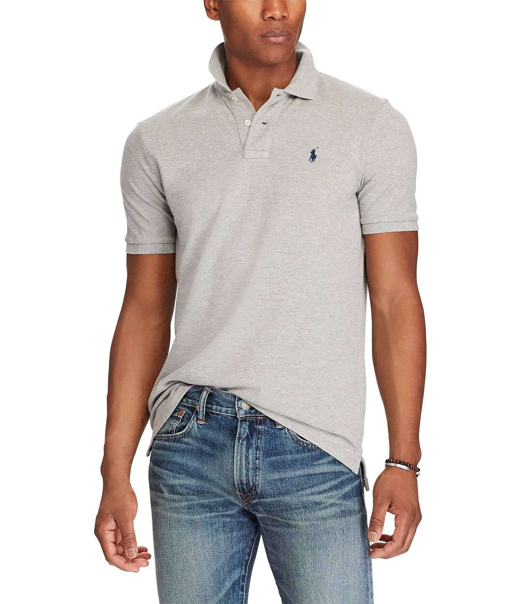 DressU Mens Non-Iron Fitted Washed Leisure Cotton Business Shirts