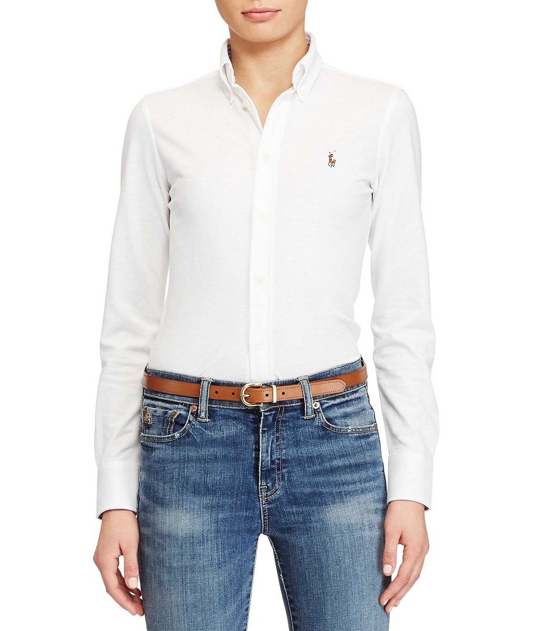 Polo Ralph Lauren Classic Signature Pony Knit Oxford Shirt