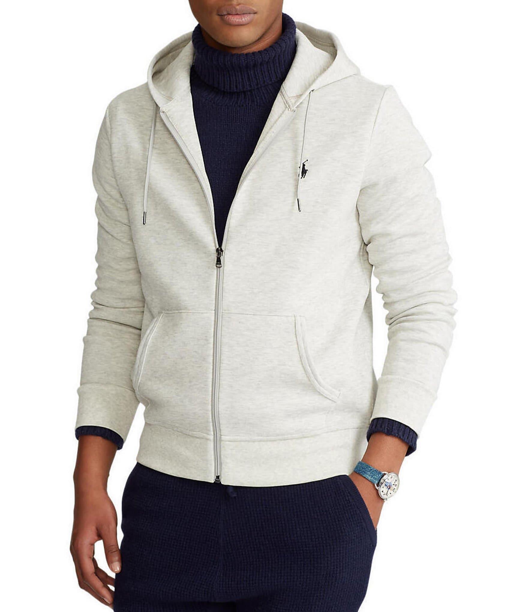 b3350bcc432 Polo Ralph Lauren Double-Knit Full-Zip Hoodie