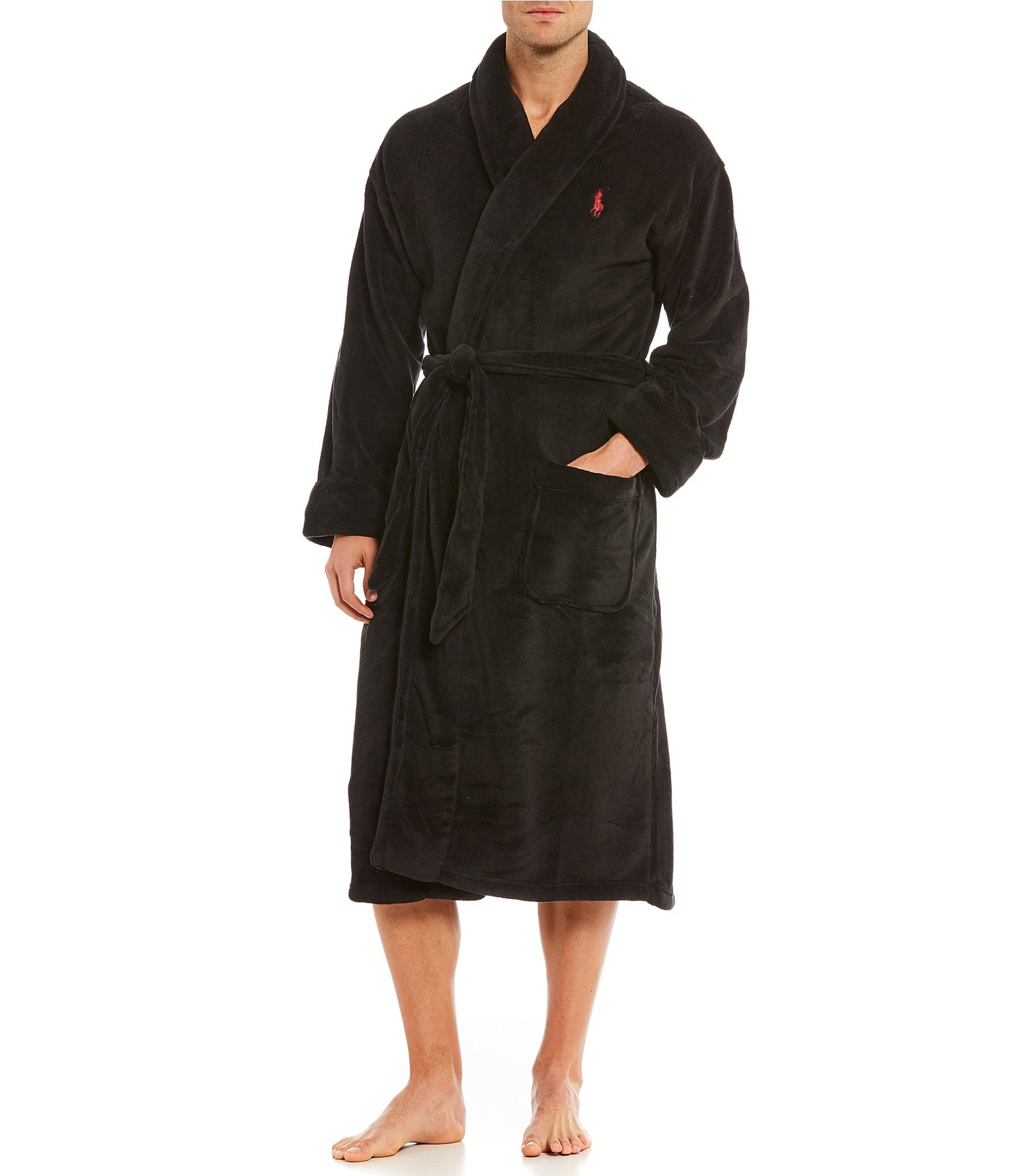 polo ralph lauren microfiber robe dillards. Black Bedroom Furniture Sets. Home Design Ideas