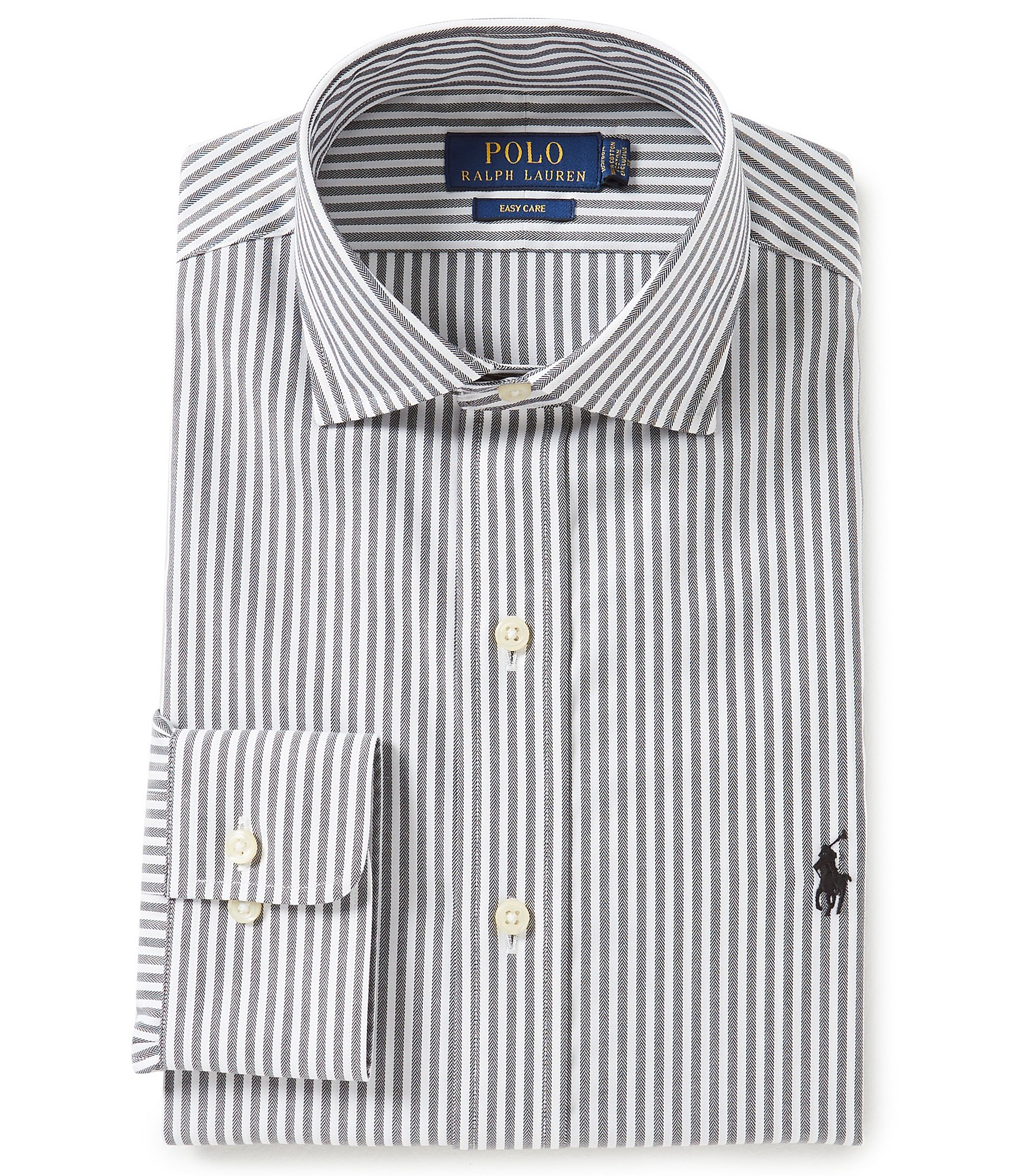 Polo ralph lauren easy care classic fit spread collar for Classic white dress shirt