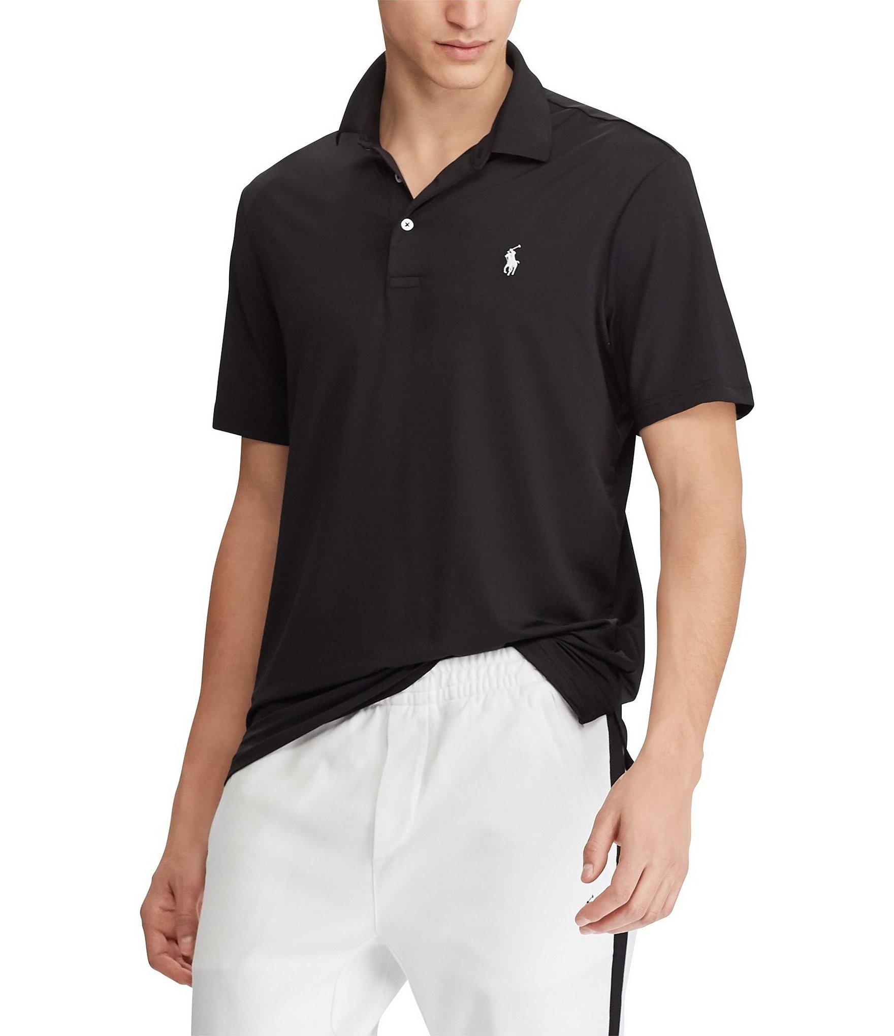 Black Mens Casual Polo Shirts Dillards
