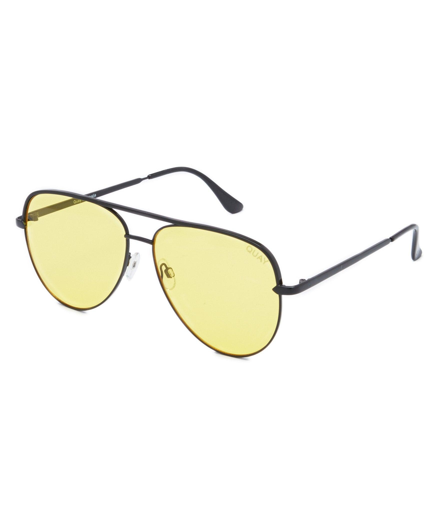 56bc38c65c Quay Australia Sahara Oversized Aviator Sunglasses