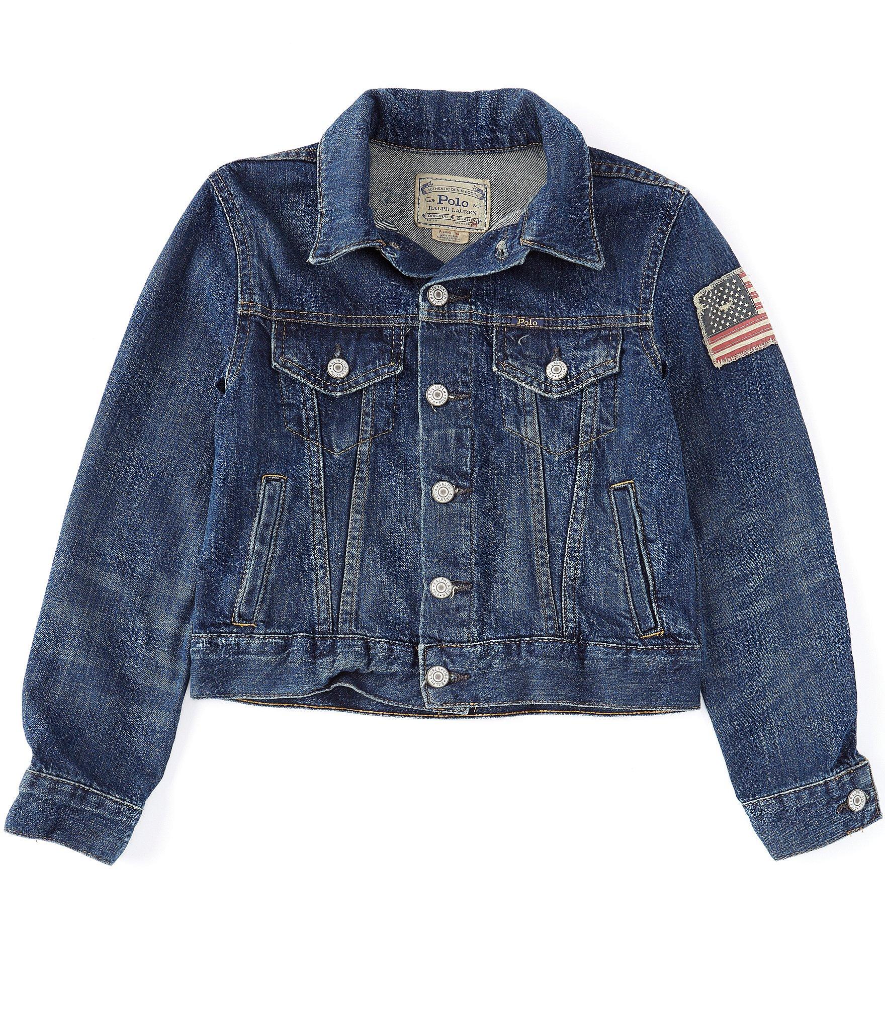 b341c69522 Ralph Lauren Childrenswear Big Boys 8-20 Denim Trucker Jacket