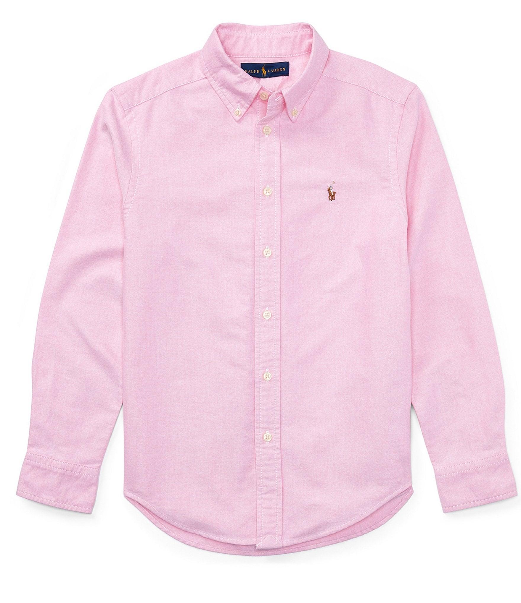 Ralph Lauren Childrenswear Big Boys 8 20 Long Sleeve