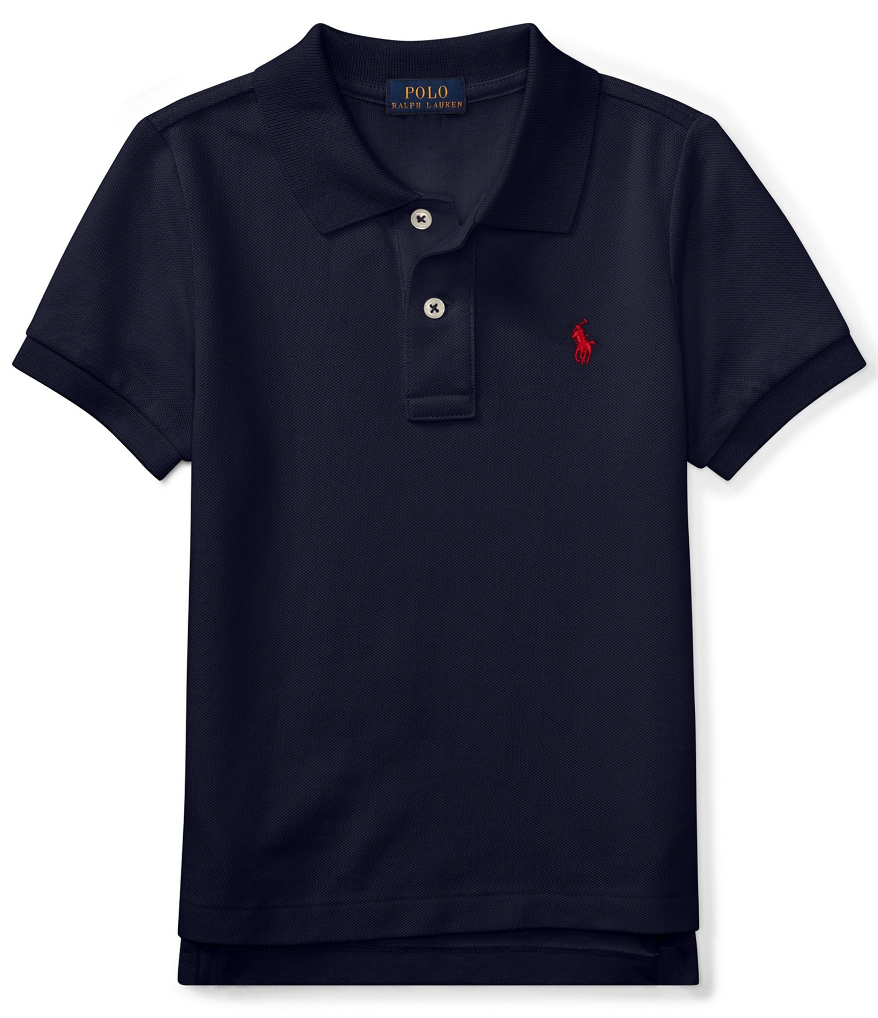 ralph lauren childrenswear little boys 2t 7 classic mesh polo shirt dillards. Black Bedroom Furniture Sets. Home Design Ideas