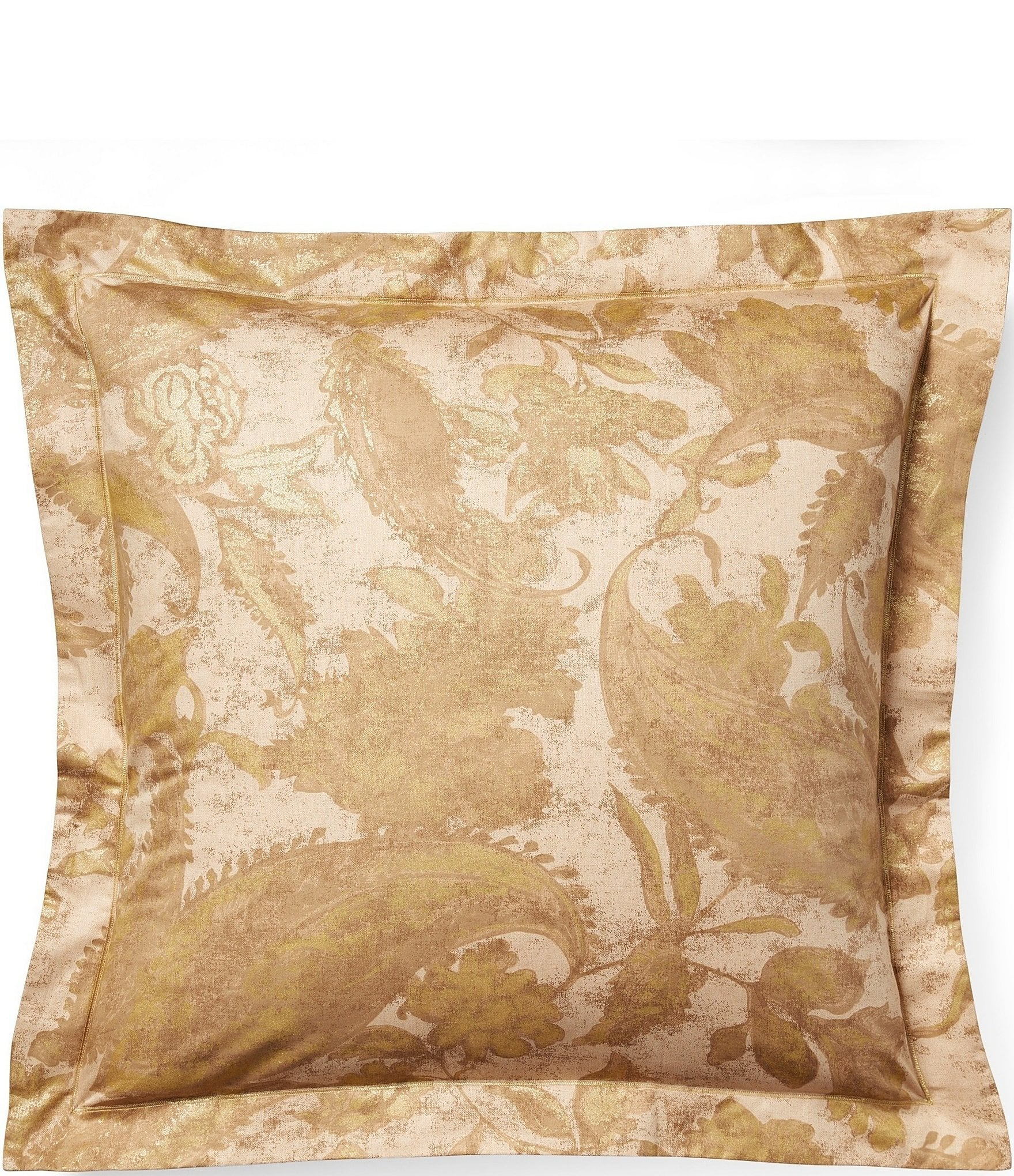 Gold Pillow Shams Dillard S