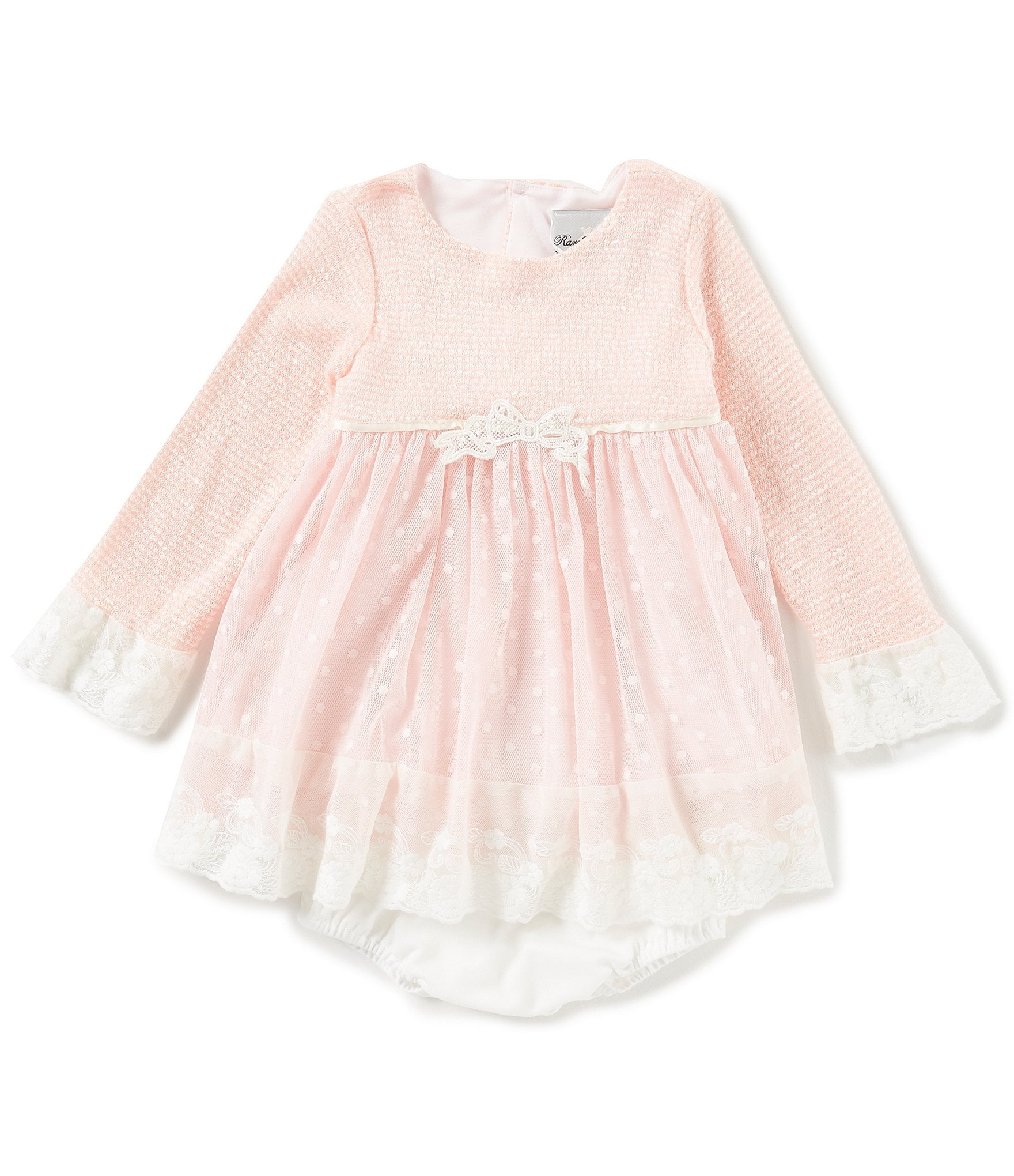 Rare Editions Baby Girls 12 24 Months Embroidered Dress