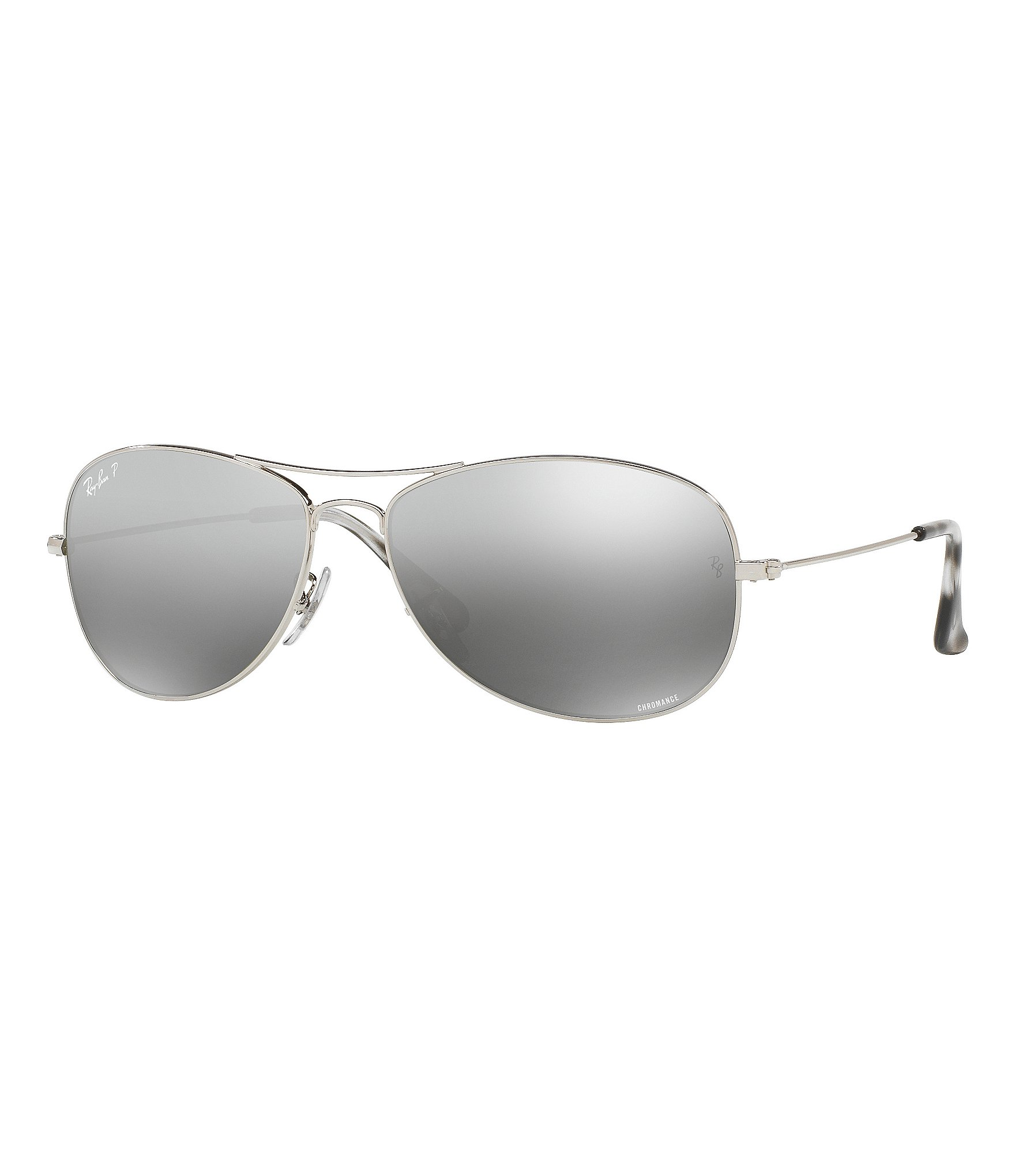 c7f000a370 Ray-Ban Chromance Polarized Mirrored Aviator Sunglasses