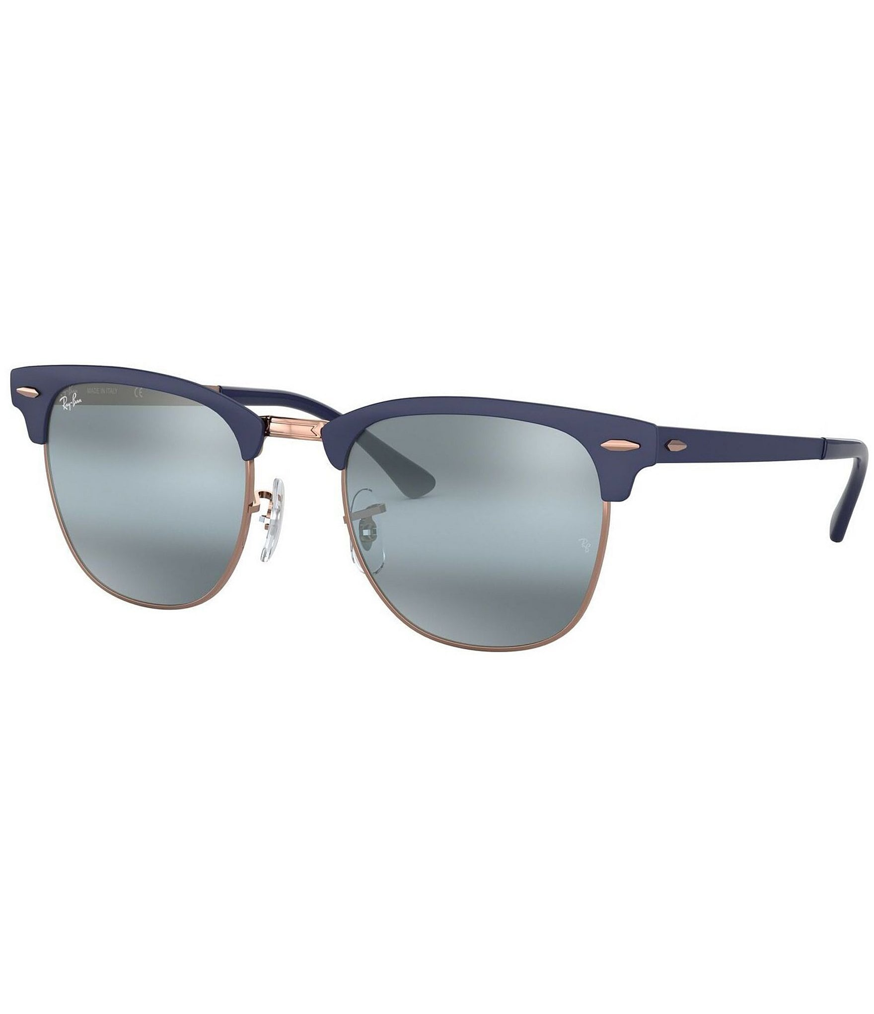 ray ban clubmaster metal black and gold