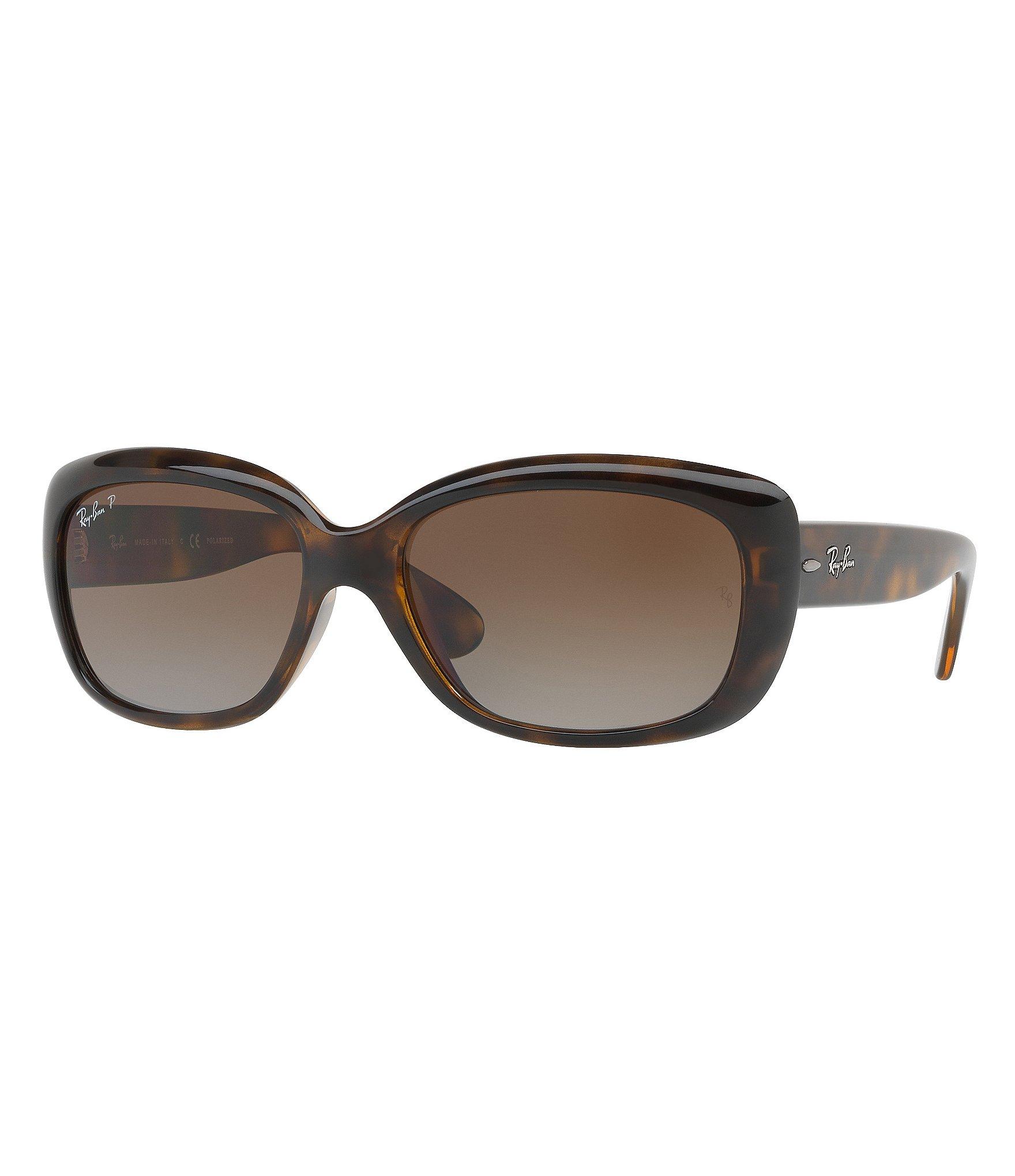 56ea93e567 Ray-Ban Polarized Jackie Ohh Oversized Sunglasses