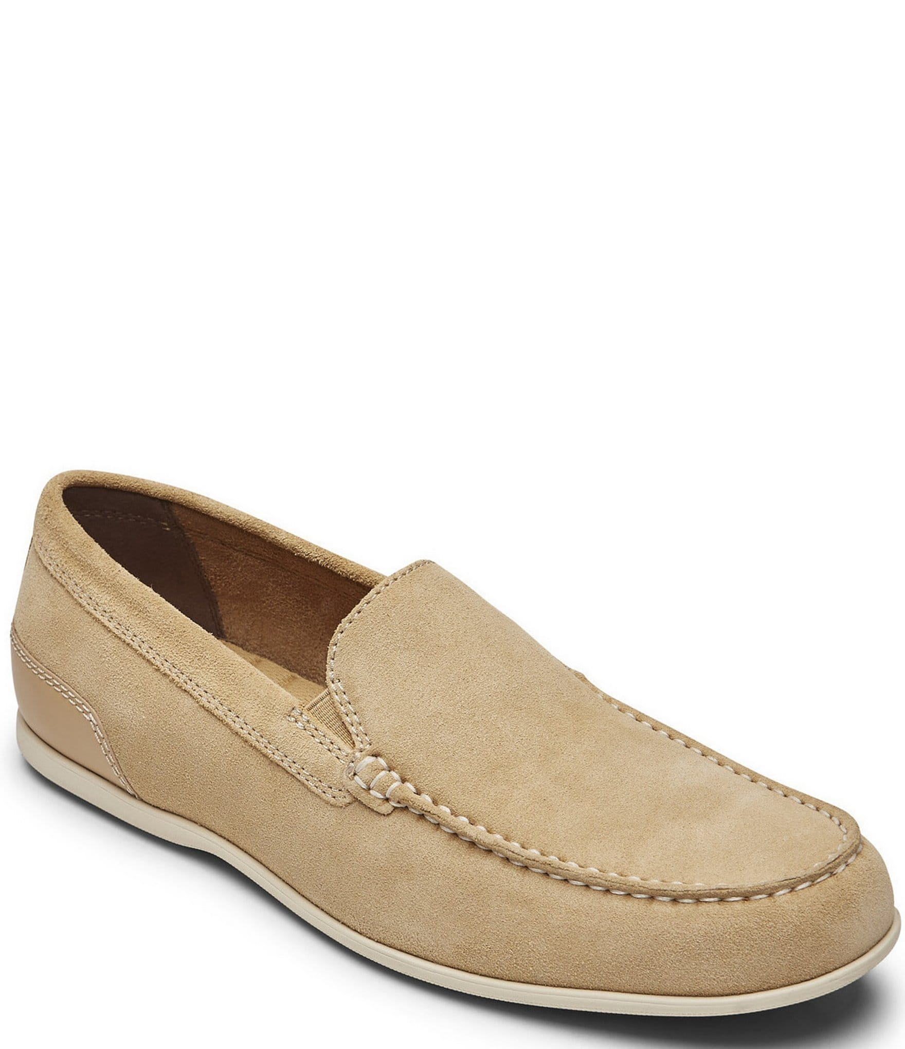 Malcom Suede Venetian Loafers