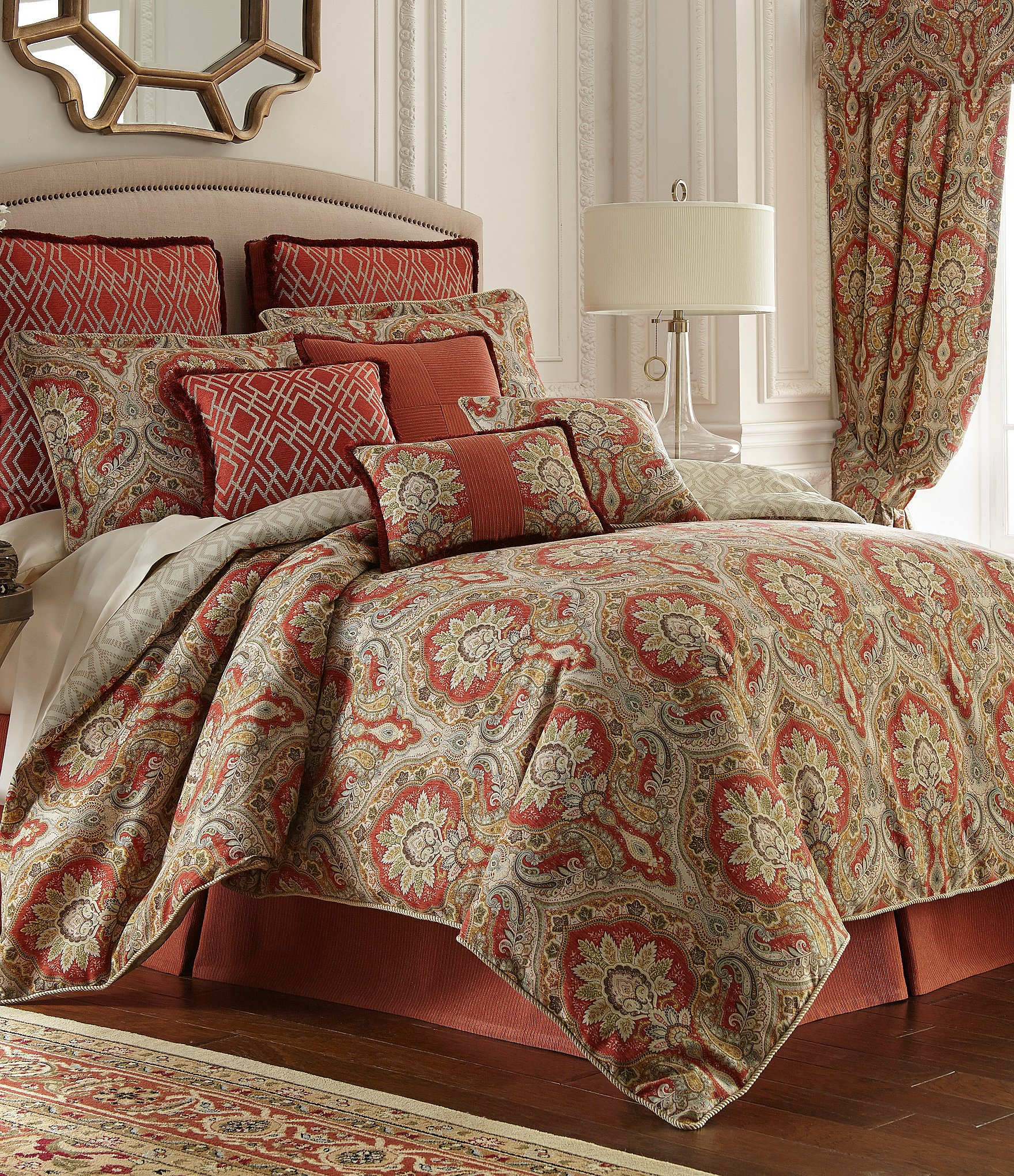 Rose Tree Harrogate Paisley Damask Amp Geometric Diamond