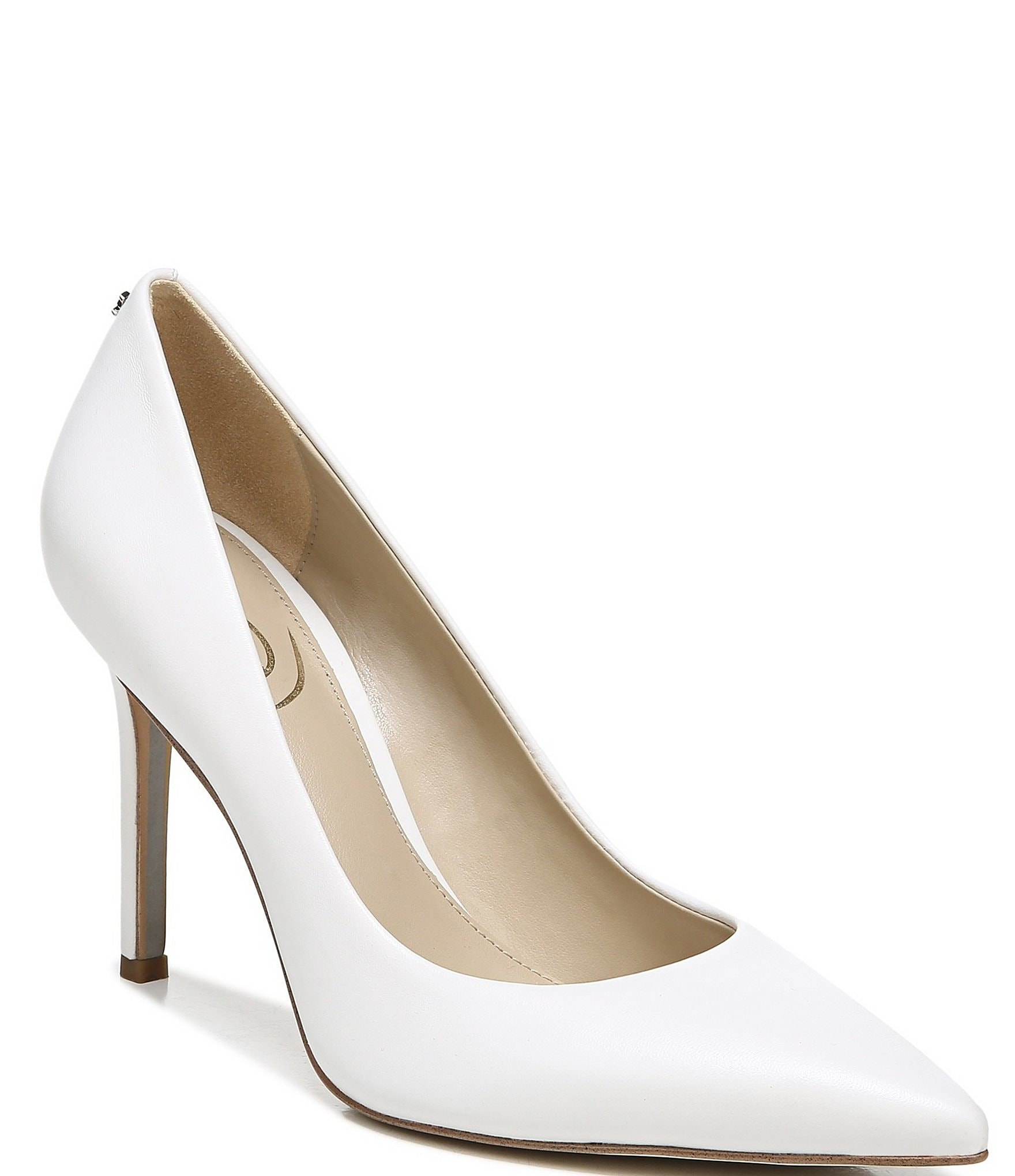 great discount sale variety design outlet for sale Sam Edelman Hazel Leather Pointed Toe Pumps