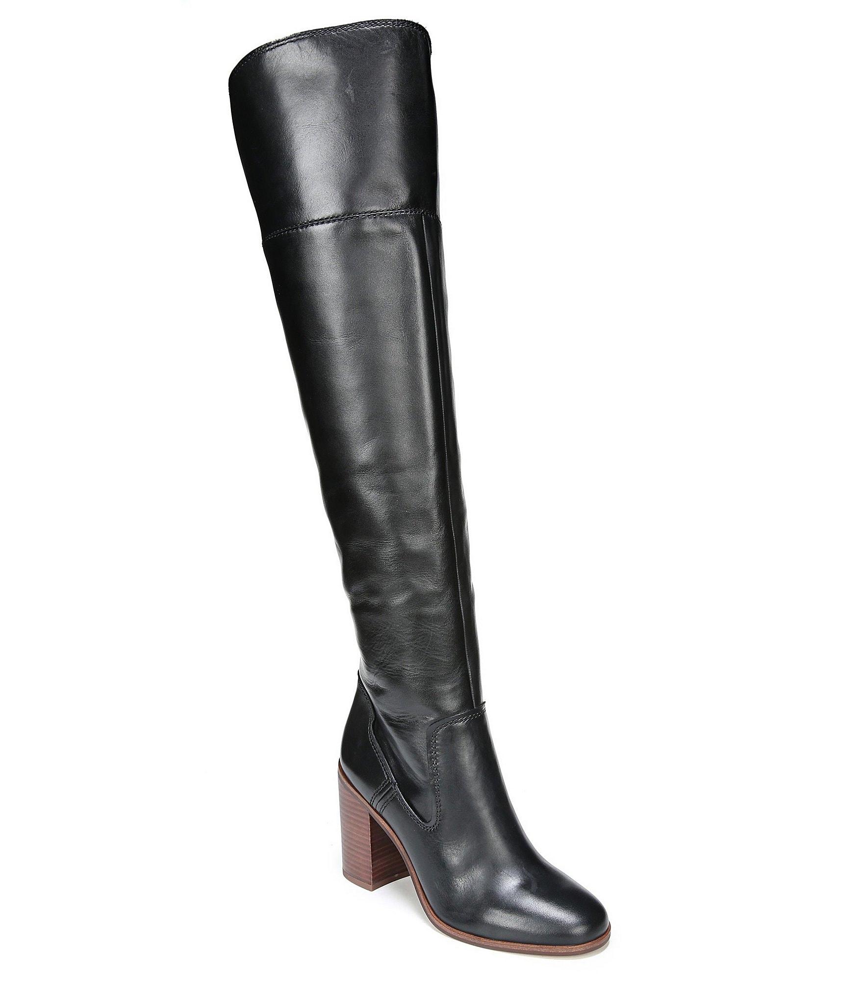 sarto by franco sarto freda leather block heel the