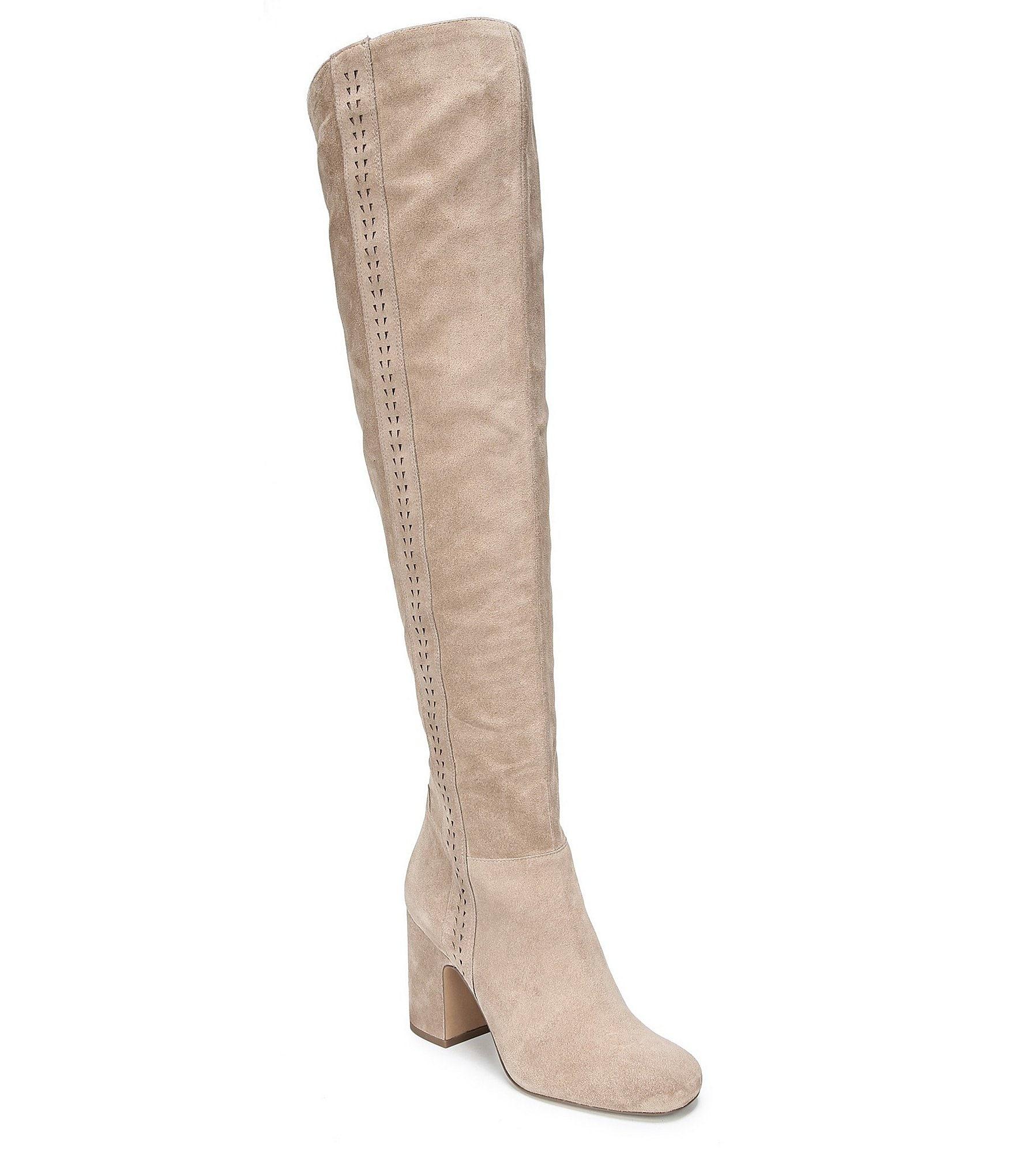 sarto by franco sarto laurel suede the knee boots