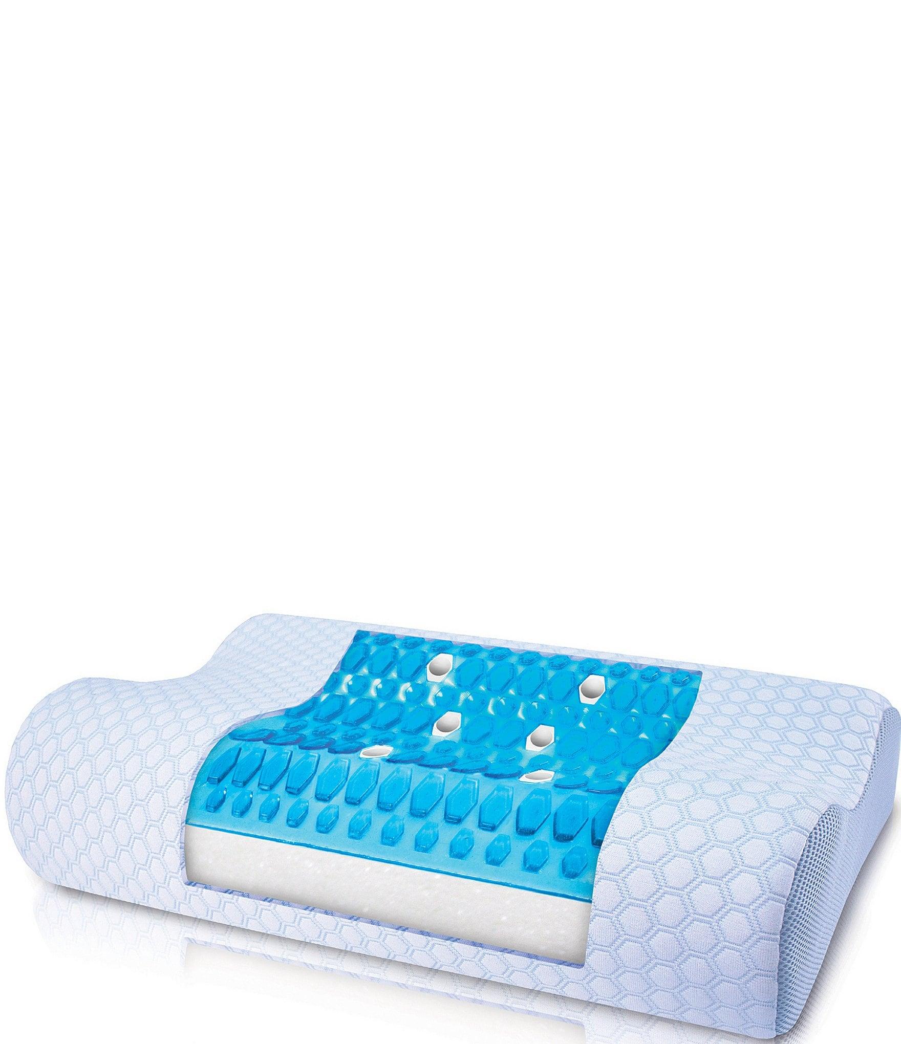 Sensorpedic Sensorcool Contour Pillow With Gel Overlay
