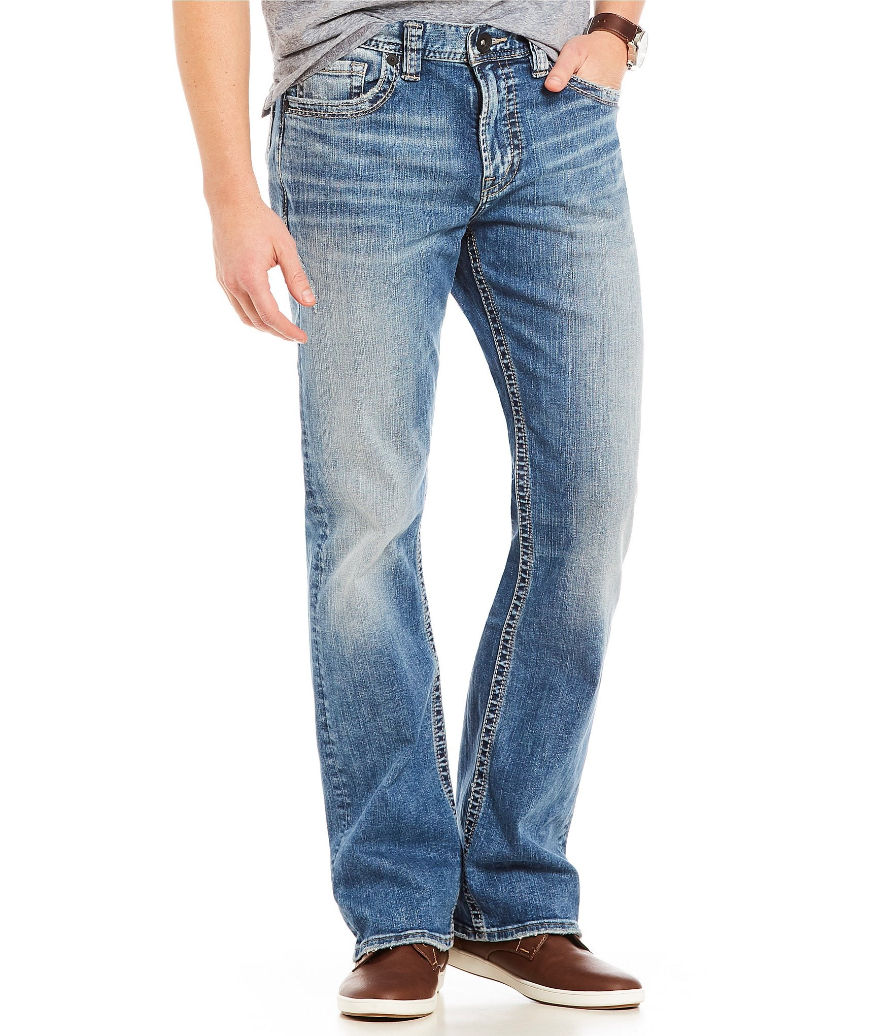 Silver Jeans Co Mens Craig Bootcut Jeans