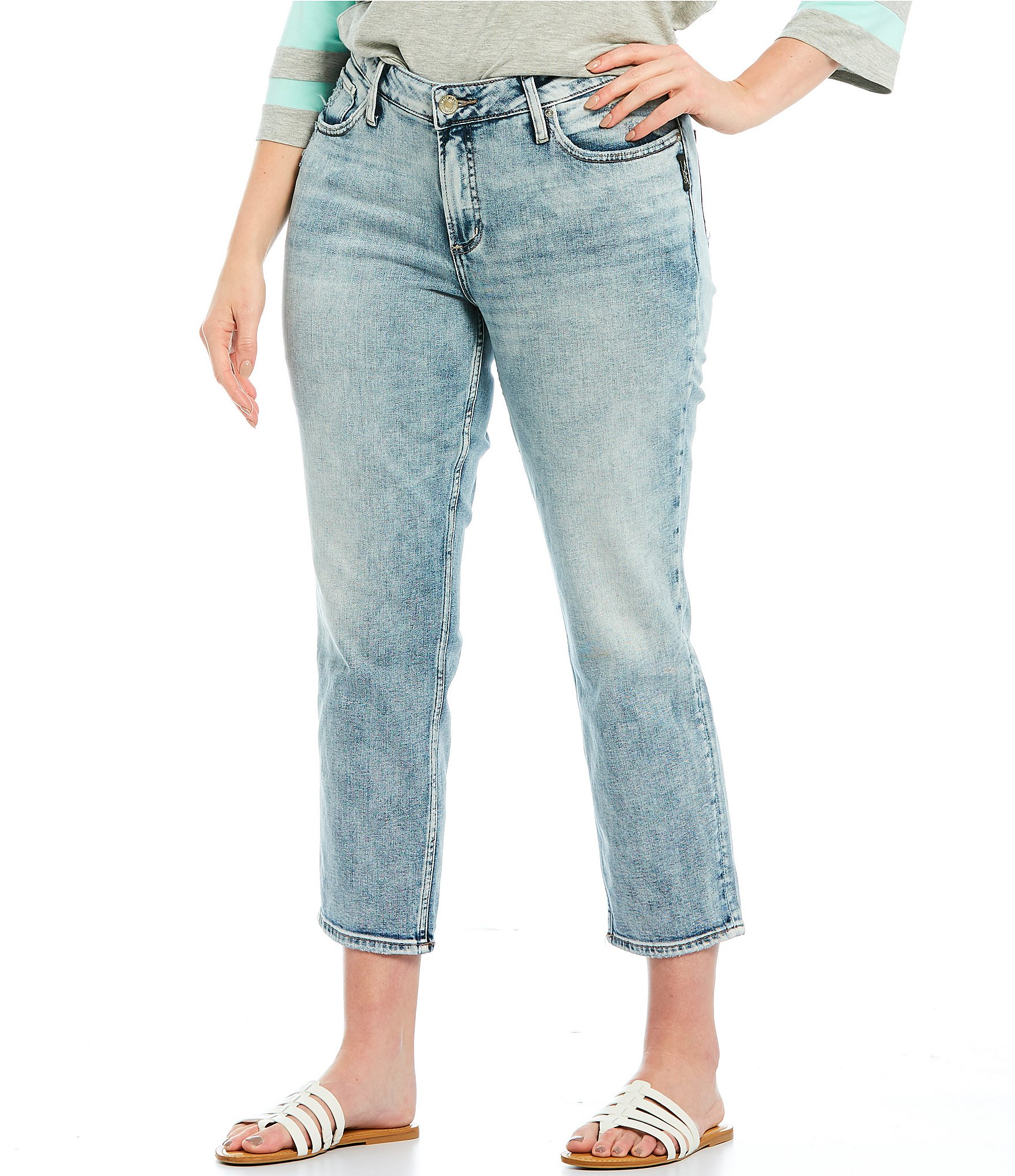 b59eaa63a2a Silver Jeans Co. Plus Size Women s Clothing