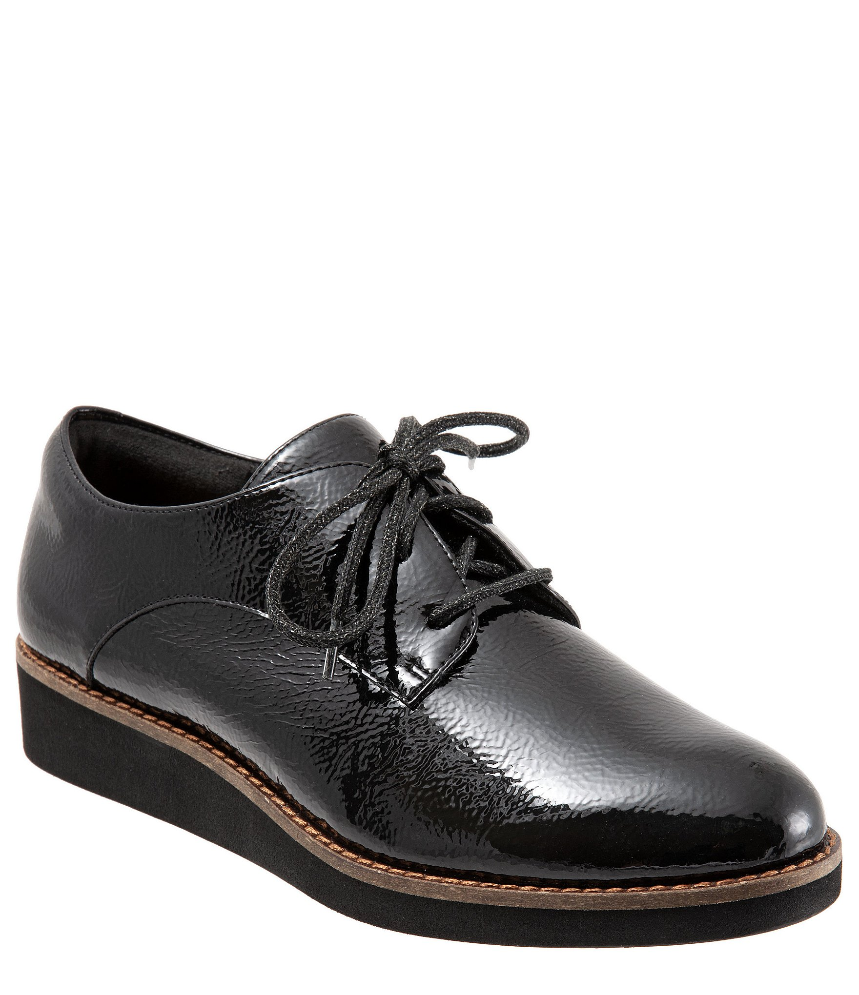 new casual shoes best value SoftWalk Willis Patent Leather Oxfords
