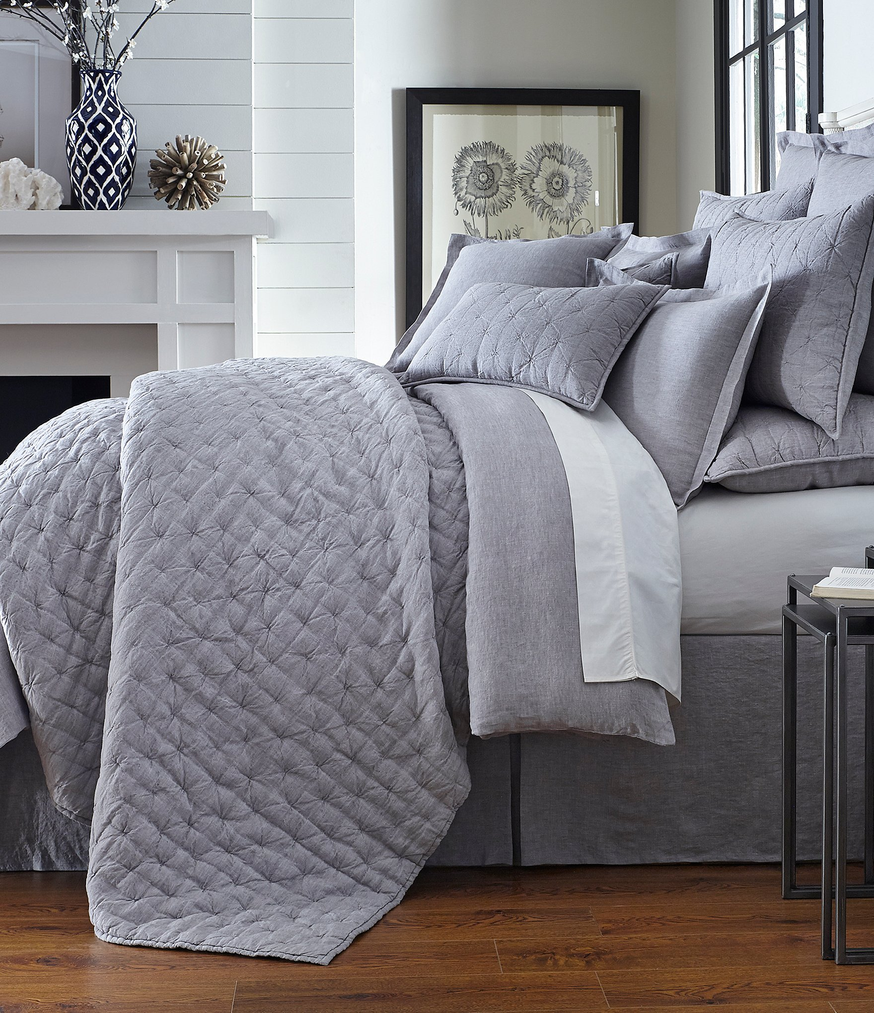 Southern Living Heirloom Linen Quilt Dillards