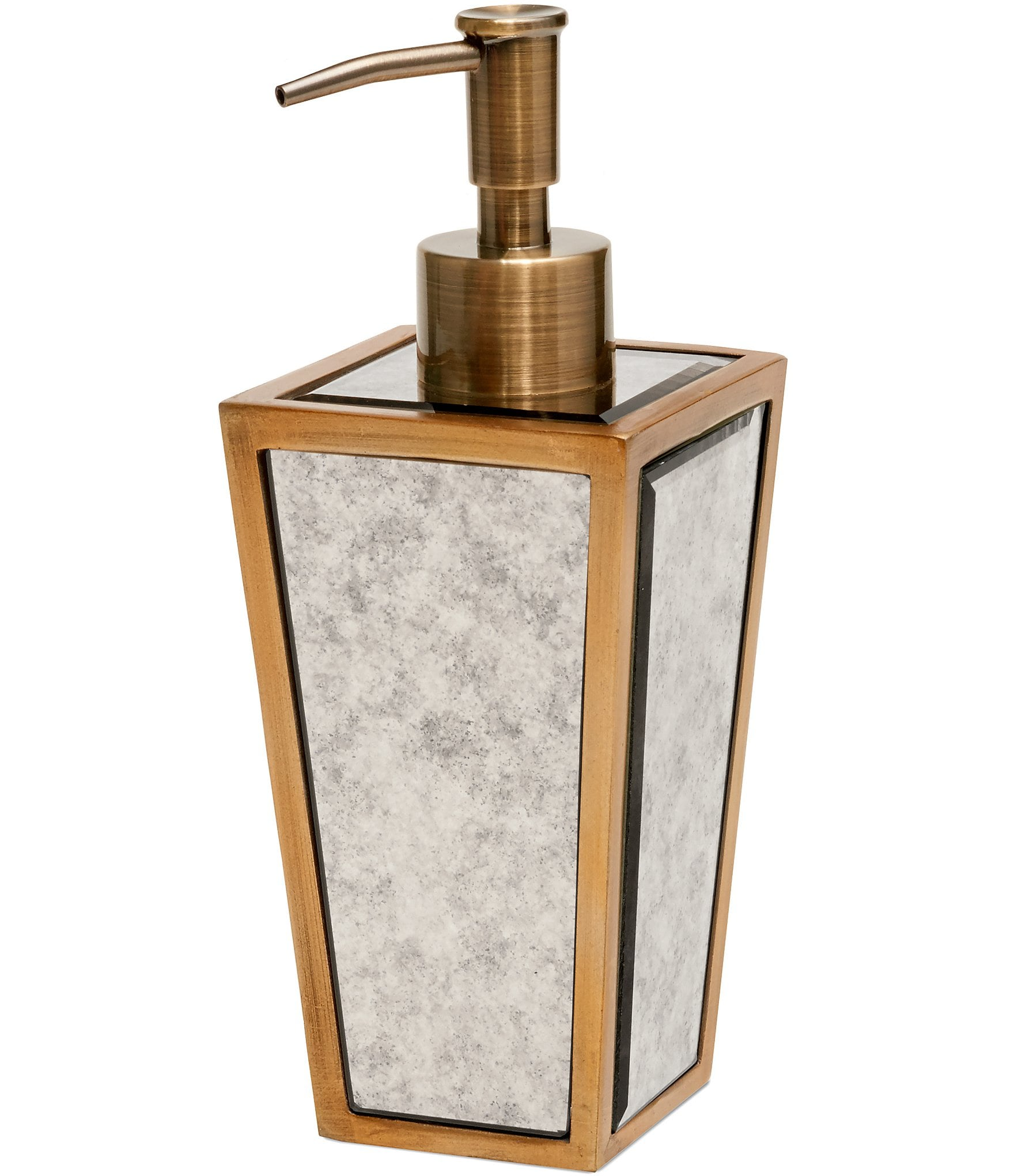 Southern living venetian lotion dispenser dillards for Dillards bathroom accessories