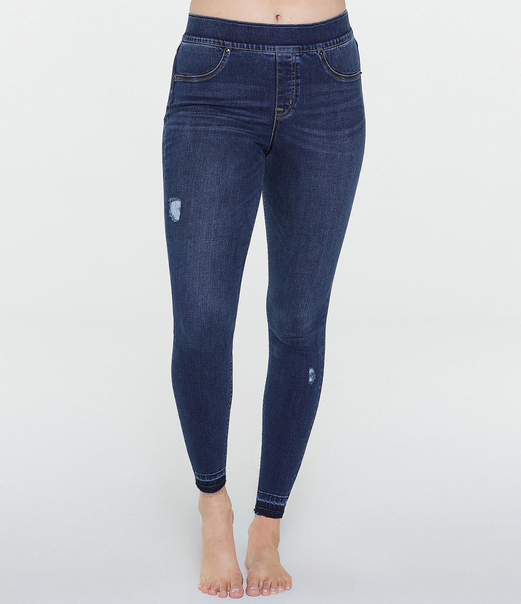 1c9ee09c57 Spanx Distressed Denim Leggings | Dillard's
